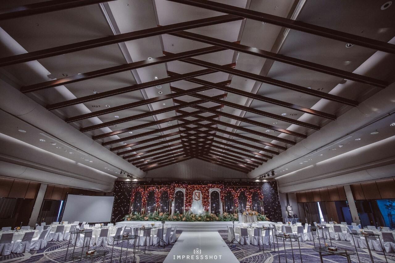 6 จัดงานแต่งแบบ Premium พร้อมข้อเสนอพิเศษกว่า 100,000 บาท! ตลอดปี 2020 ที่ Bangkok Marriott Marquis Queen's Park