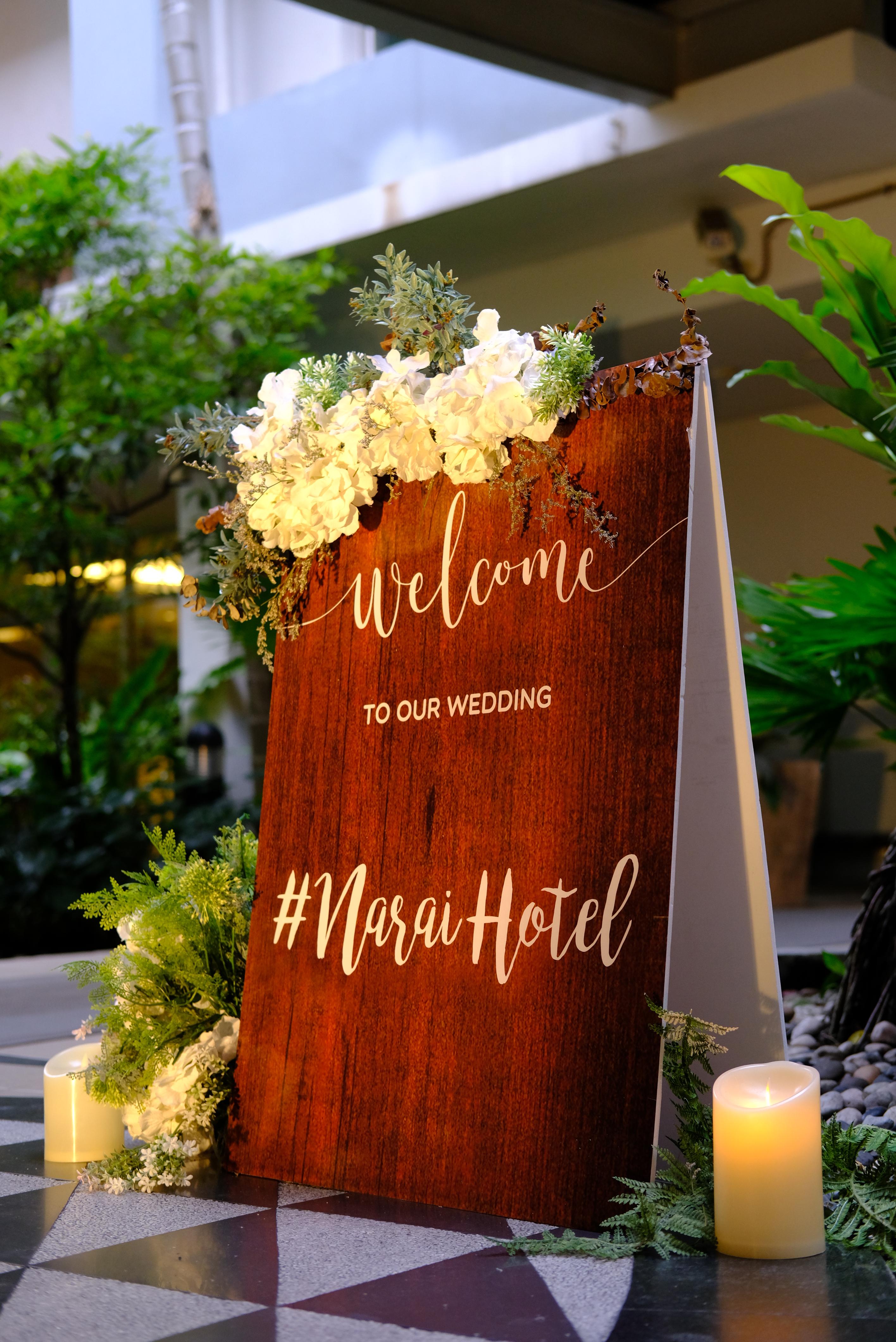 undefined ฟรี! ของตกแต่งภายในงาน โปรโมชั่นสำหรับงานแต่งไซส์มินิ 50-100 ท่าน @ Narai Hotel