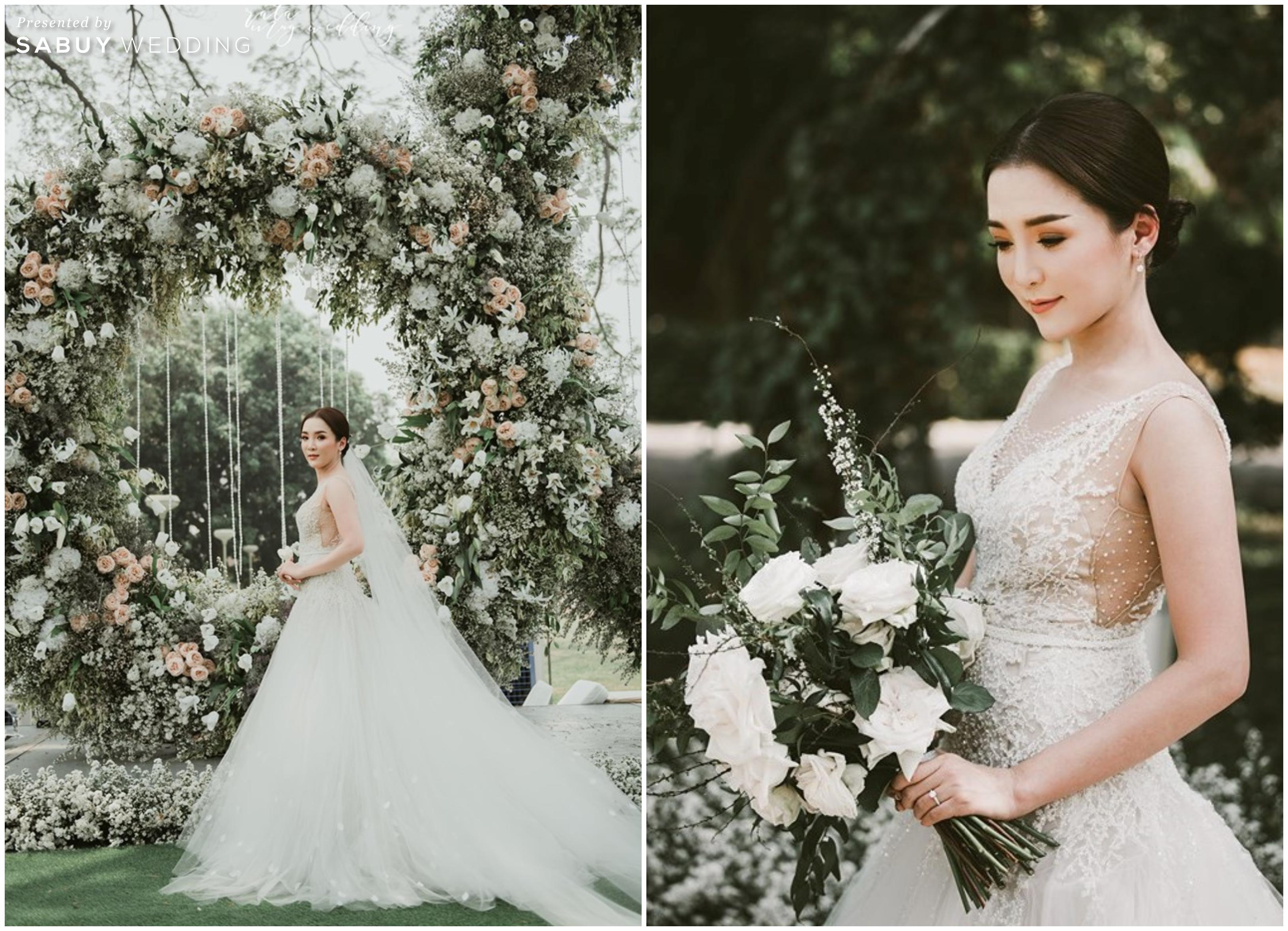 เจ้าสาว,ดอกไม้เจ้าสาว,ชุดแต่งงาน,ชุดเจ้าสาว รีวิวงานแต่งสวนสวยละมุนใจ บรรยากาศโรแมนติก @ Le coq d'or Chiangmai