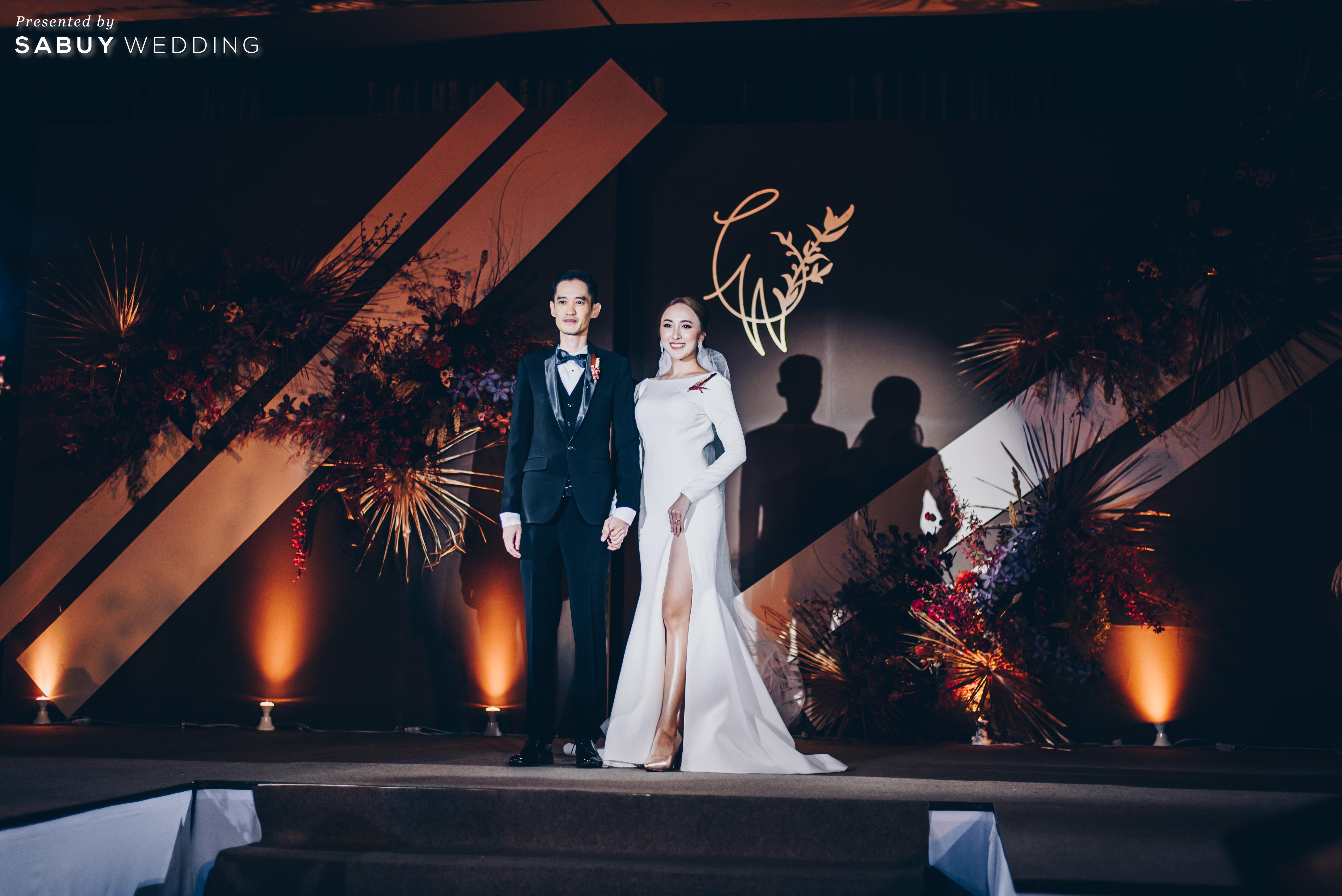 รีวิวงานแต่งสวยมีสไตล์ รวมงานดีไซน์กิมมิคเพียบ @ The St. Regis Bangkok