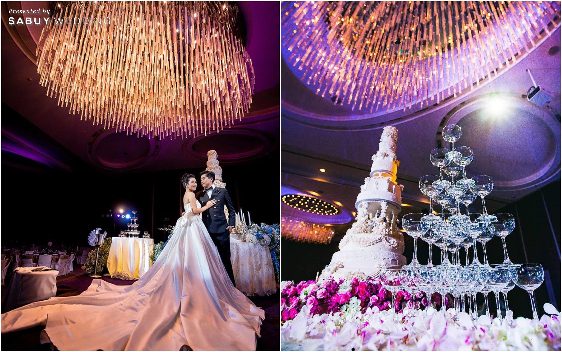CDC Crystal Grand Ballroom,สถานที่แต่งงาน,สถานที่จัดงานแต่งงาน,สถานที่แต่งงานขนาดใหญ่,งานแต่งงาน,งานเลี้ยง,เจ้าบ่าว,เจ้าสาว,เค้กแต่งงาน,เค้กงานแต่ง,เค้ก CDC Crystal Grand Ballroom ห้องจัดเลี้ยงแชนเดอเลียร์สวยแกรนด์ ถ่ายรูปงานแต่งมุมไหนก็ปัง!