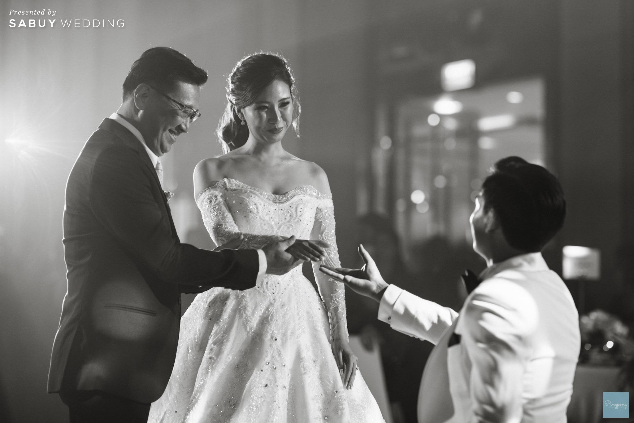 พิธีแต่งงาน,โรงแรม,สถานที่จัดงานแต่งงาน,งานแต่งงาน รีวิวงานแต่งโมเดิร์นหวานละมุน อบอุ่นในโทนครีมชมพู @ Hyatt Regency Bangkok Sukhumvit