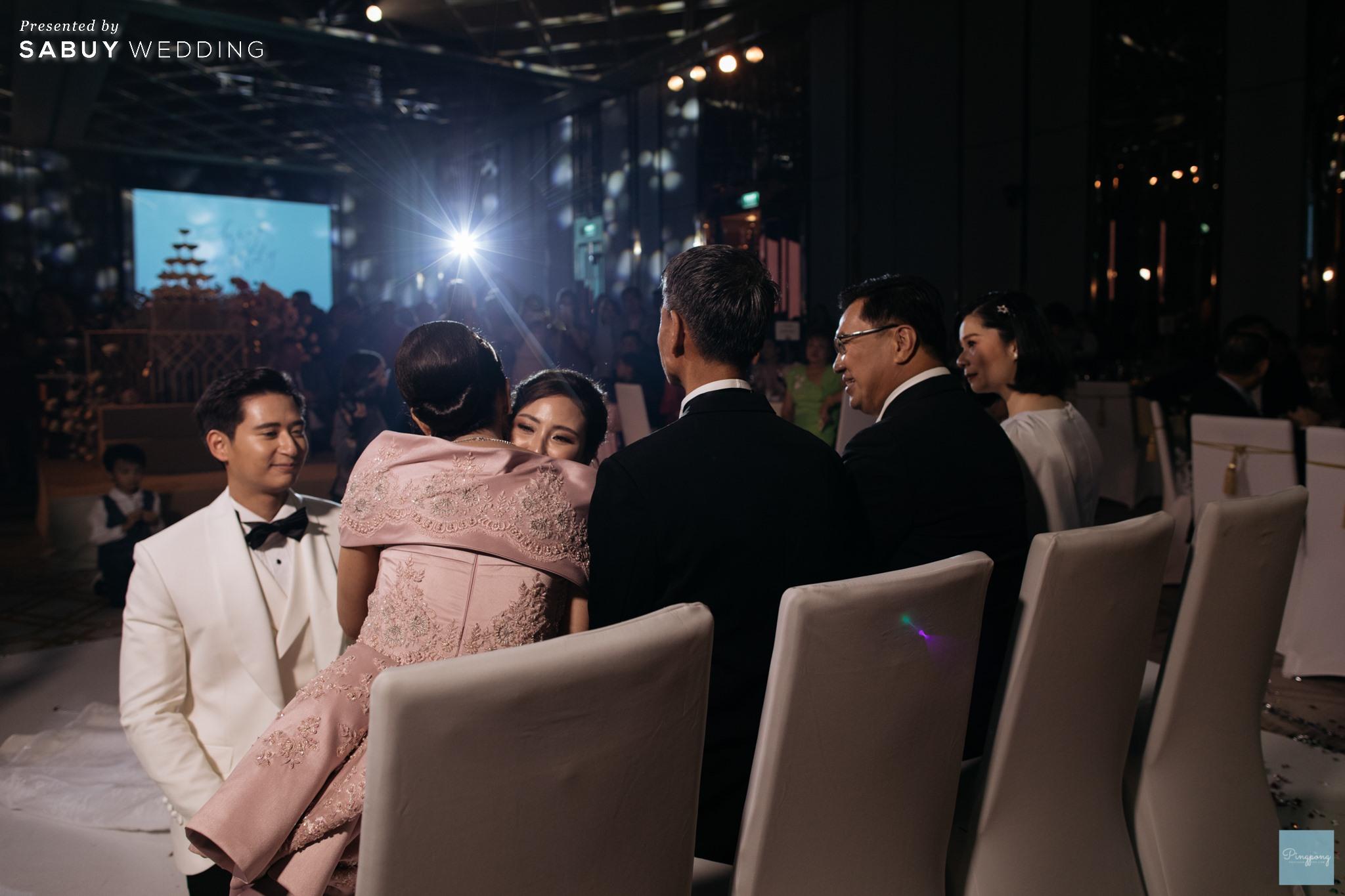 พิธีแต่งงาน,โรงแรม,สถานที่จัดงานแต่งงาน,งานแต่งงาน,เจ้าบ่าว,เจ้าสาว รีวิวงานแต่งโมเดิร์นหวานละมุน อบอุ่นในโทนครีมชมพู @ Hyatt Regency Bangkok Sukhumvit