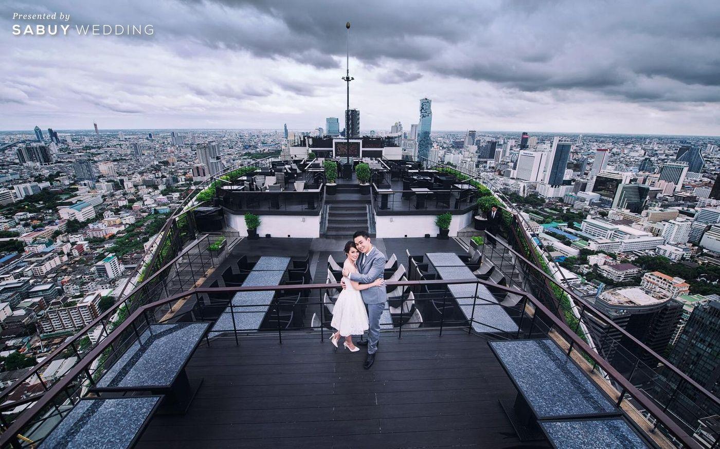 5 สถานที่แต่งงานสุดฟิน อินบรรยากาศ Rooftop