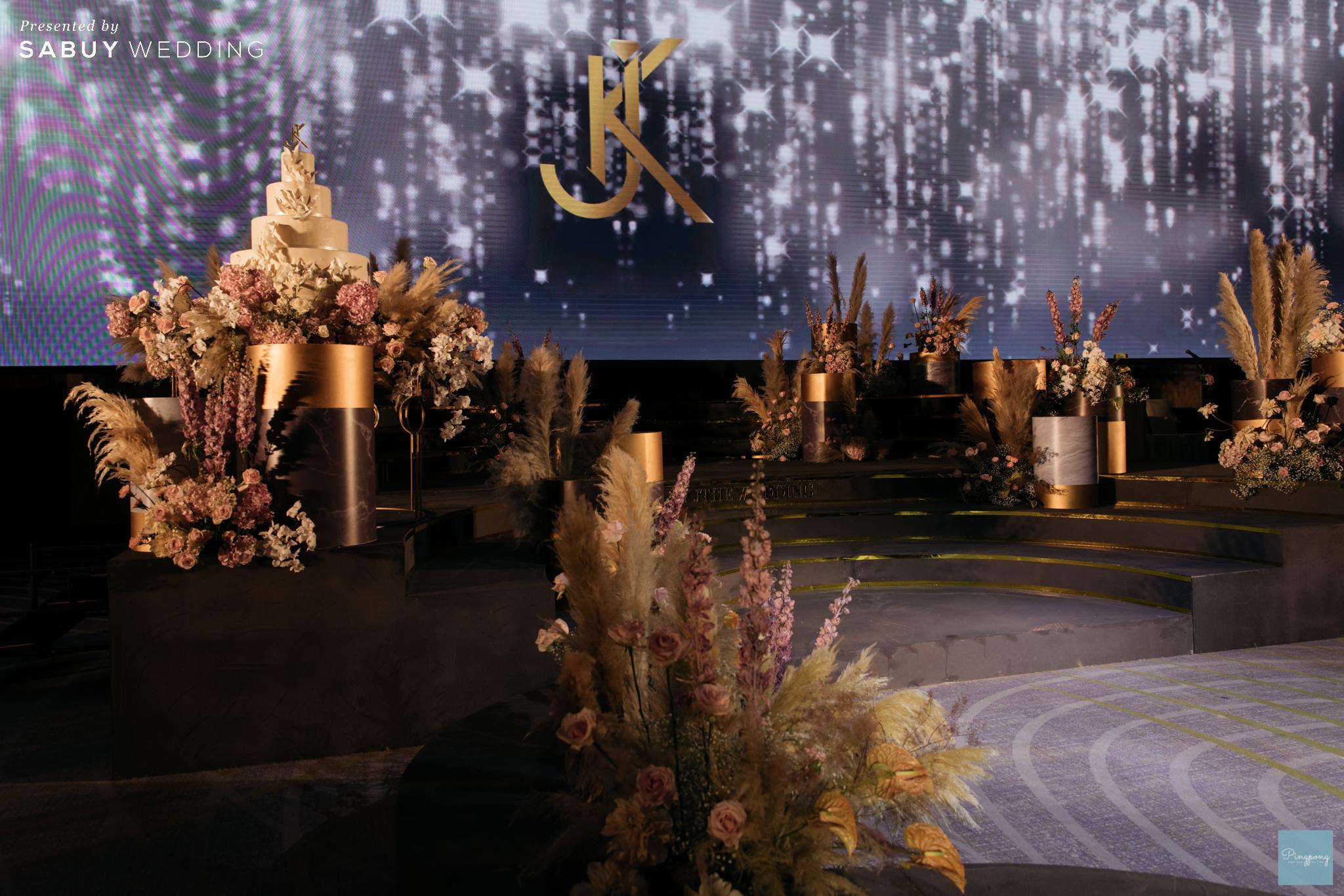 รีวิวงานแต่งสวยปังดูดี ด้วยโทนสีและจอ LED สุดอลัง @ Conrad Bangkok