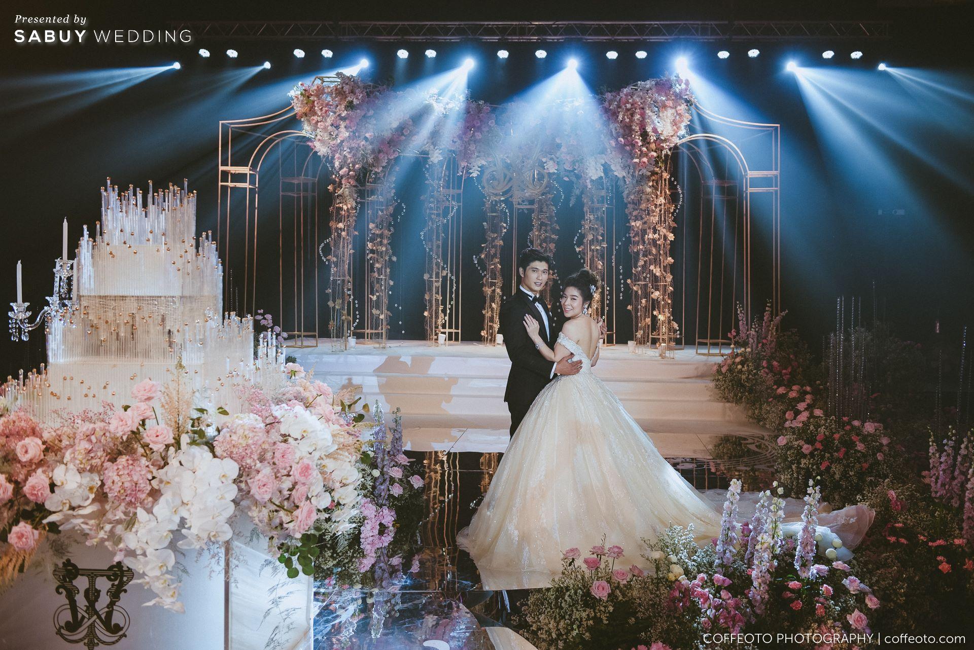 เจ้าบ่าว,ตกแต่งงาน,เจ้าสาว รีวิวงานแต่งสวยปัง อลังกับชุดเจ้าสาว Glow in the dark เรืองแสงได้ @ InterContinental Bangkok