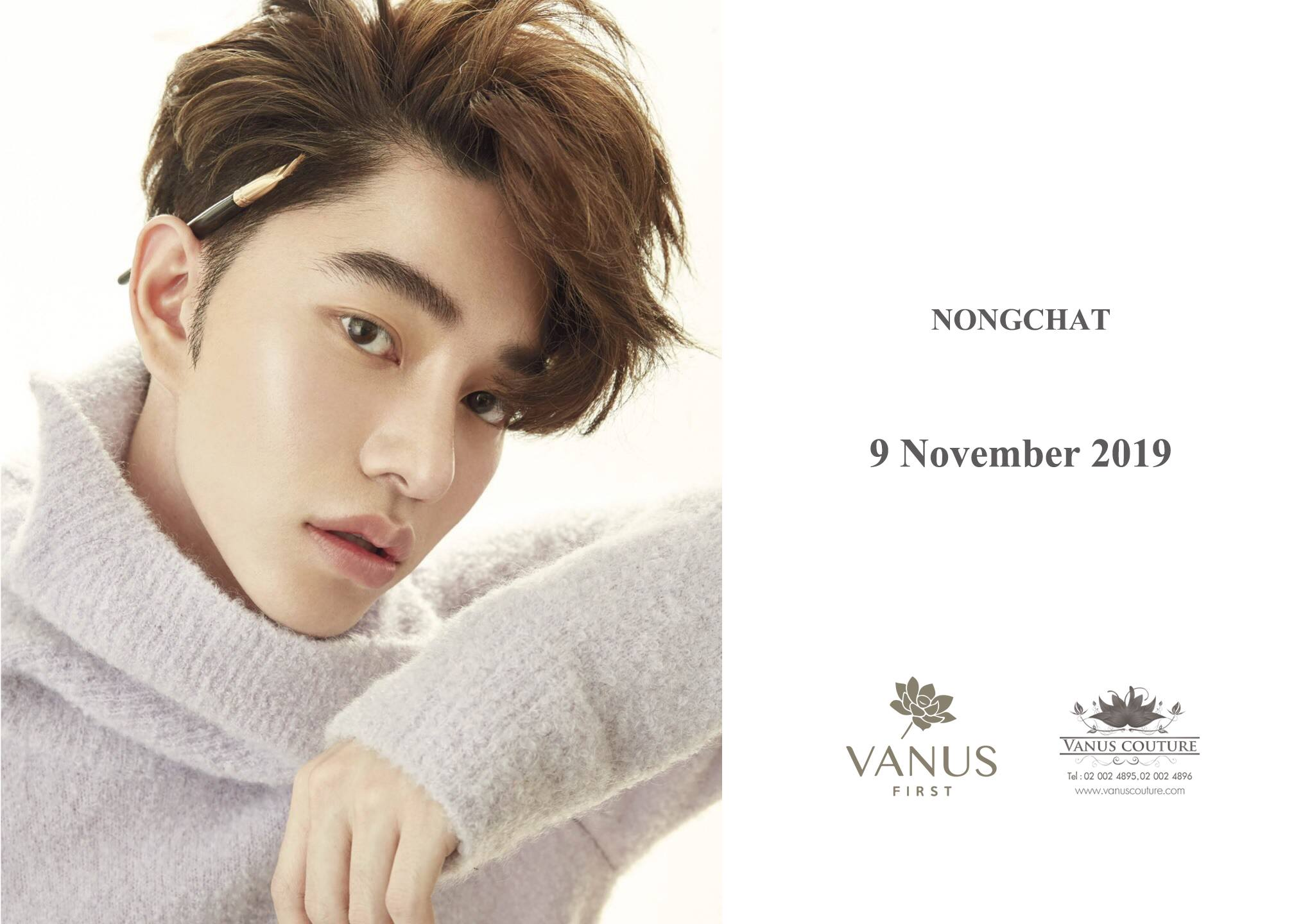 Vanus Couture เปิดจองคิวช่างแต่งหน้าชื่อดัง แต่งวันฤกษ์ดี!! 9 & 10พ.ย. ในราคาเริ่มต้นแค่ 30,000 บาท!!