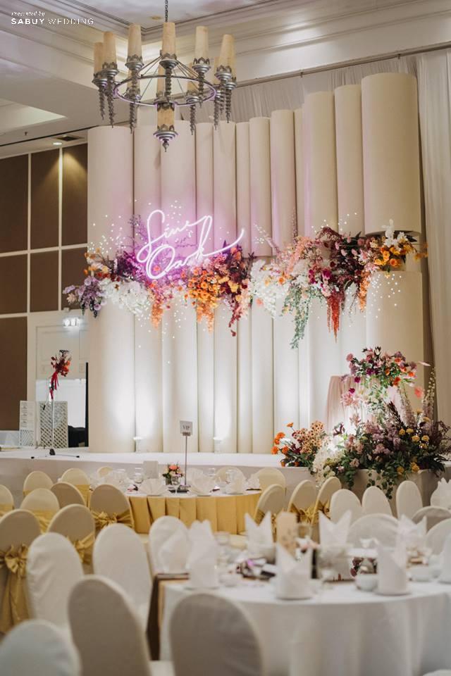 ตกแต่งงานแต่งงาน,Phka รีวิวงานแต่งสวยสุดด้วย Neon Light มีสไตล์แบบหวานซ่อนเปรี้ยว @ The Imperial Hotel and Convention Centre Korat