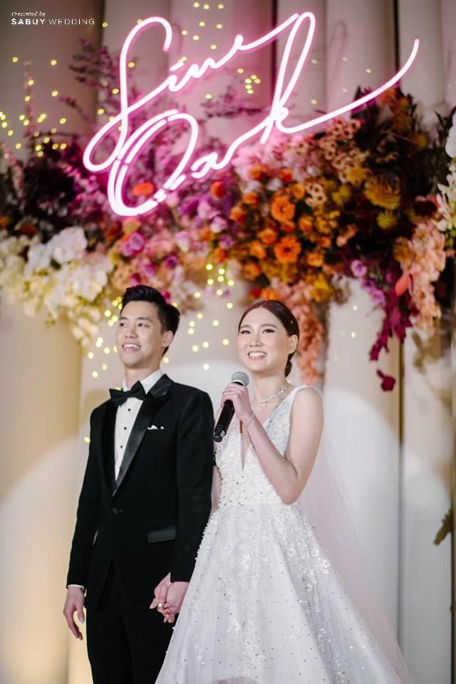 งานแต่งงาน,เจ้าสาว,เจ้าบ่าว รีวิวงานแต่งสวยสุดด้วย Neon Light มีสไตล์แบบหวานซ่อนเปรี้ยว @ The Imperial Hotel and Convention Centre Korat