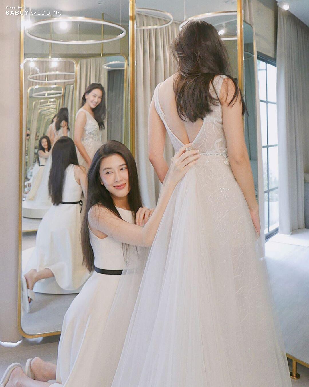 สร้างลุคสวยมีระดับ ด้วยชุดแต่งงานแบรนด์ Hi-End จากต่างประเทศ กับ Elisabeth Bridal
