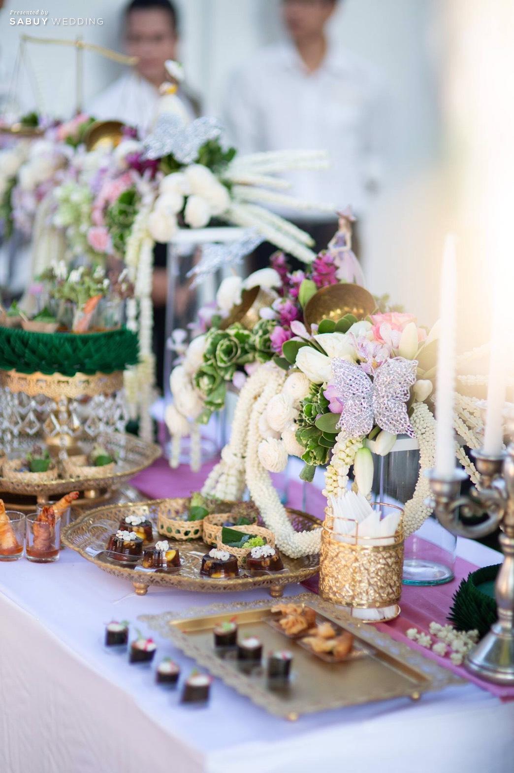 งานแต่งงาน,อาหารงานแต่ง รีวิวงานแต่งเสน่ห์ไทย ในสถานที่สไตล์โคโลเนียล @ House of Chandra