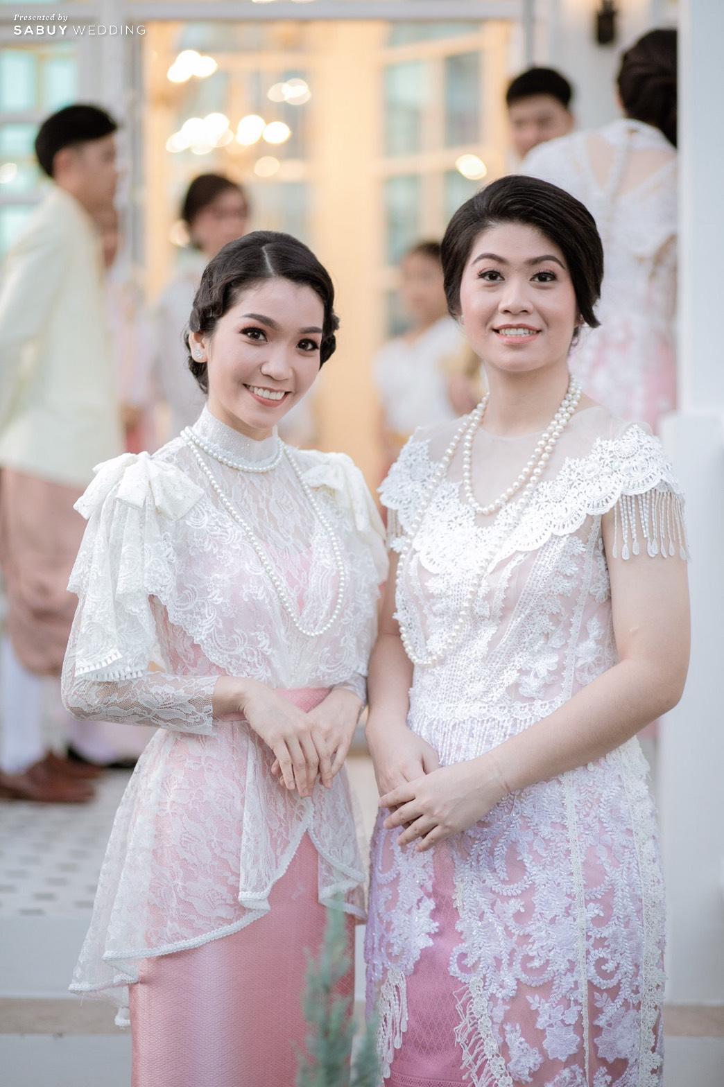 เพื่อนเจ้าสาว รีวิวงานแต่งเสน่ห์ไทย ในสถานที่สไตล์โคโลเนียล @ House of Chandra