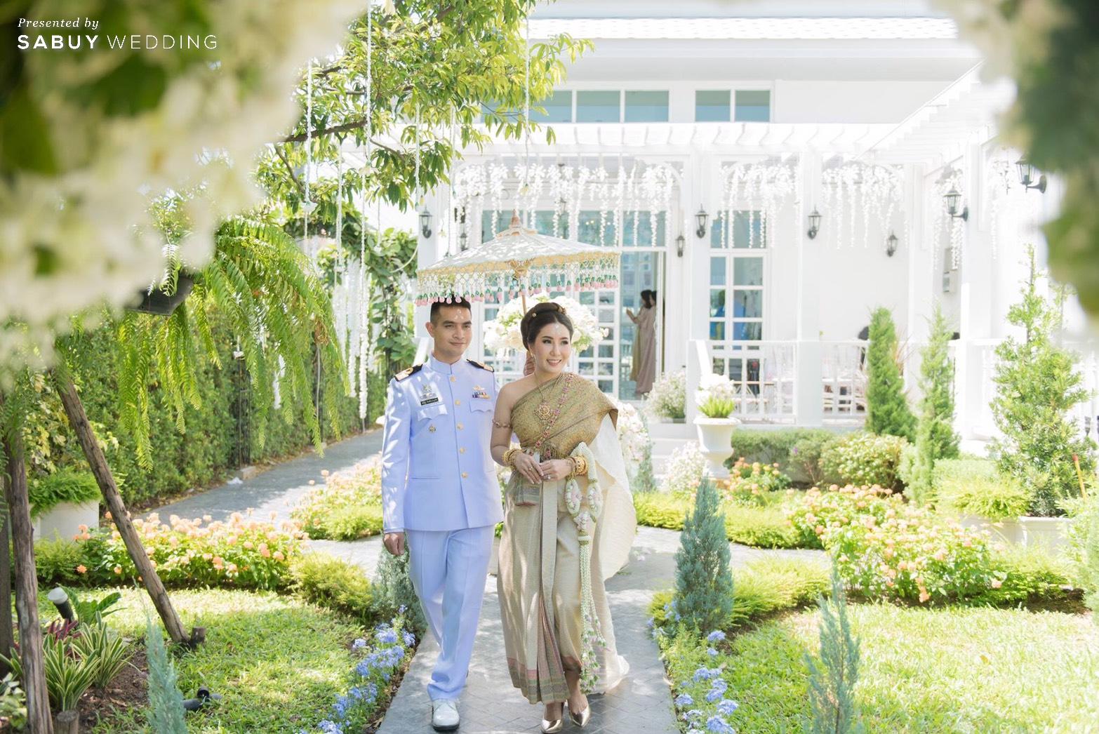 ชุดไทย,ชุดเจ้าสาว,ชุดแต่งงาน รีวิวงานแต่งเสน่ห์ไทย ในสถานที่สไตล์โคโลเนียล @ House of Chandra