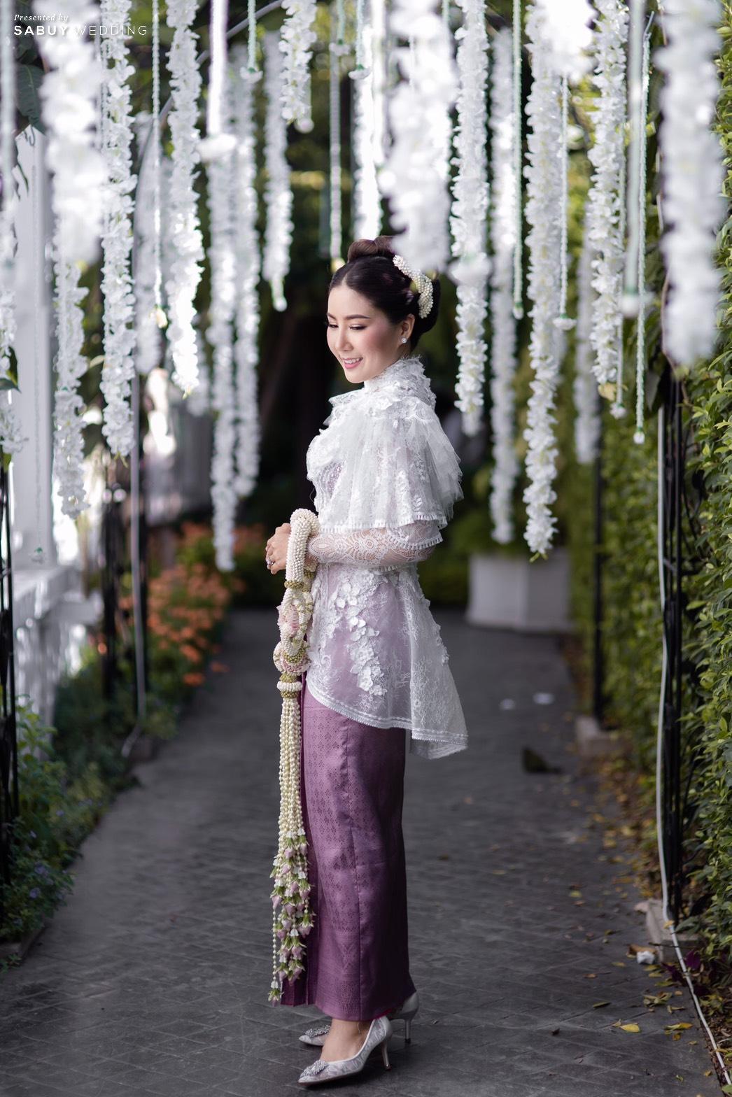 ชุดแต่งงาน รีวิวงานแต่งเสน่ห์ไทย ในสถานที่สไตล์โคโลเนียล @ House of Chandra