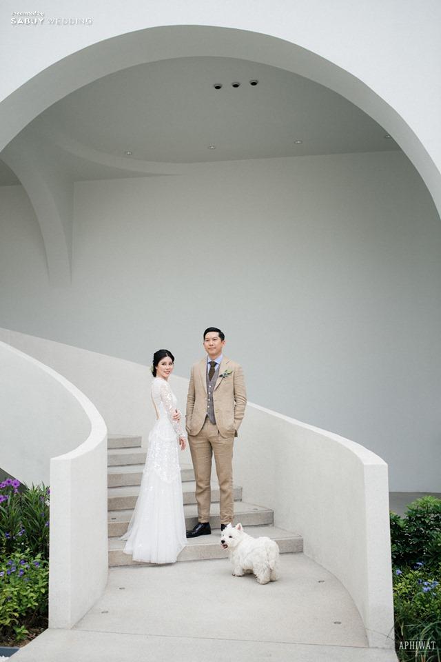เจ้าบ่าว,เจ้าสาว,ชุดแต่งงาน,AUBE,สถานที่แต่งงาน รีวิวงานแต่งเก๋มีสไตล์ ในคอนเซ็ปต์ Art Object  @ AUBE
