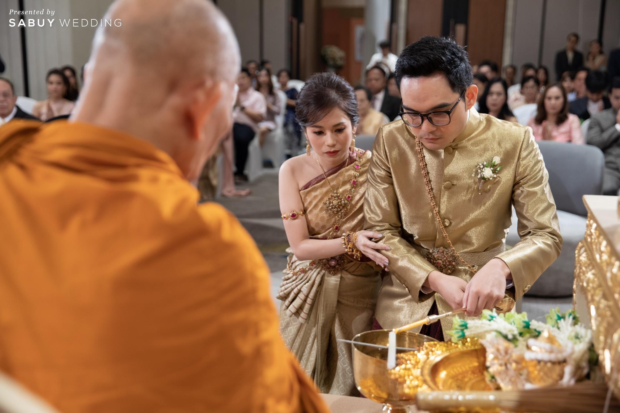 รีวิวงานแต่งโทนอบอุ่น สวยเด่นในธีมสี Orange Peach @ Novotel Bangkok Sukhumvit 20
