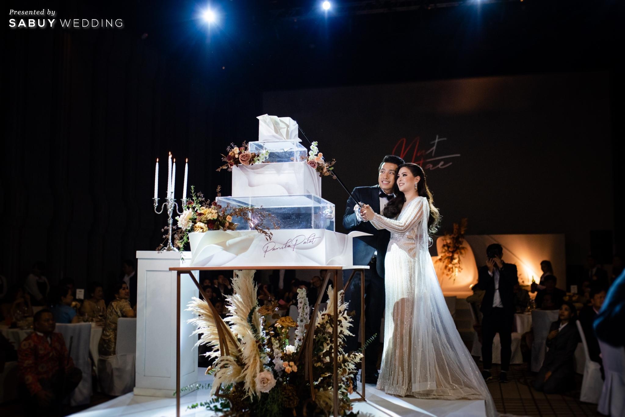 เจ้าบ่าว,เจ้าสาว,งานแต่งงาน,เค้กแต่งงาน รีวิวงานแต่งฟีล Luxury สวยดูดีด้วยโทนสีเบจ @ SO/ BANGKOK