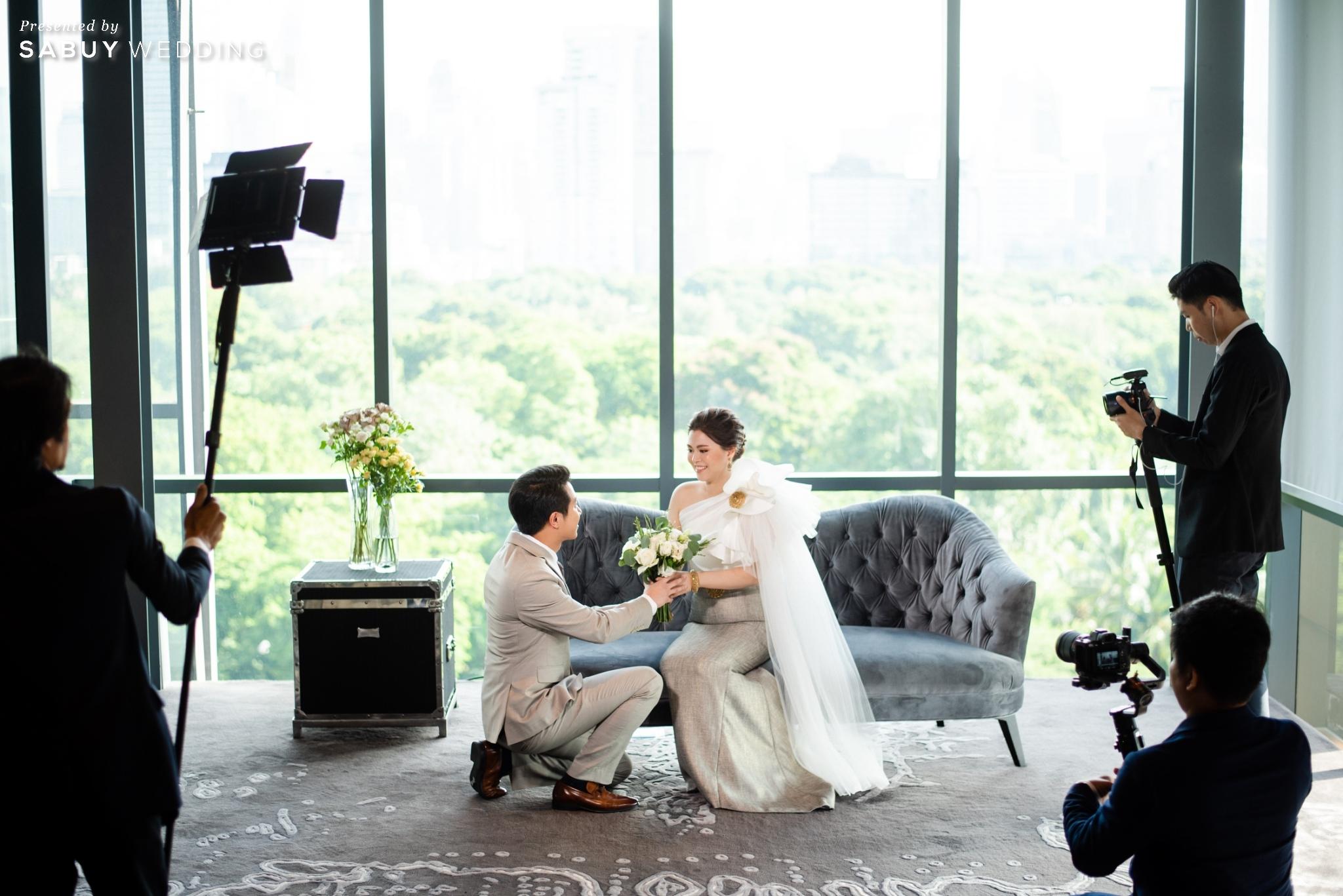 เจ้าบ่าว,เจ้าสาว,ชุดแต่งงาน,ดอกไม้เจ้าสาว รีวิวงานแต่งฟีล Luxury สวยดูดีด้วยโทนสีเบจ @ SO/ BANGKOK