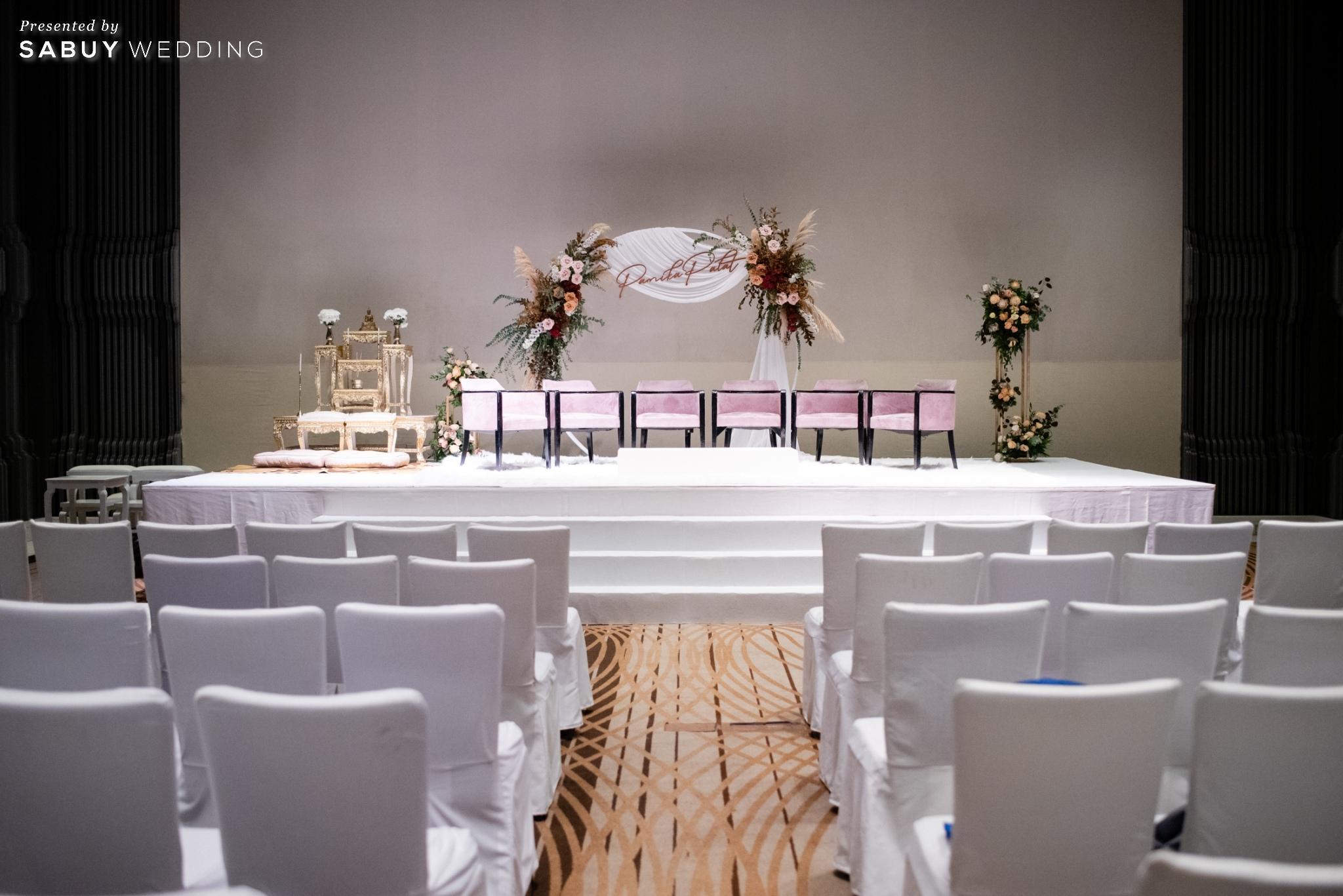 ตกแต่งงานแต่งงาน,สถานที่แต่งงาน,งานแต่งงาน รีวิวงานแต่งฟีล Luxury สวยดูดีด้วยโทนสีเบจ @ SO/ BANGKOK
