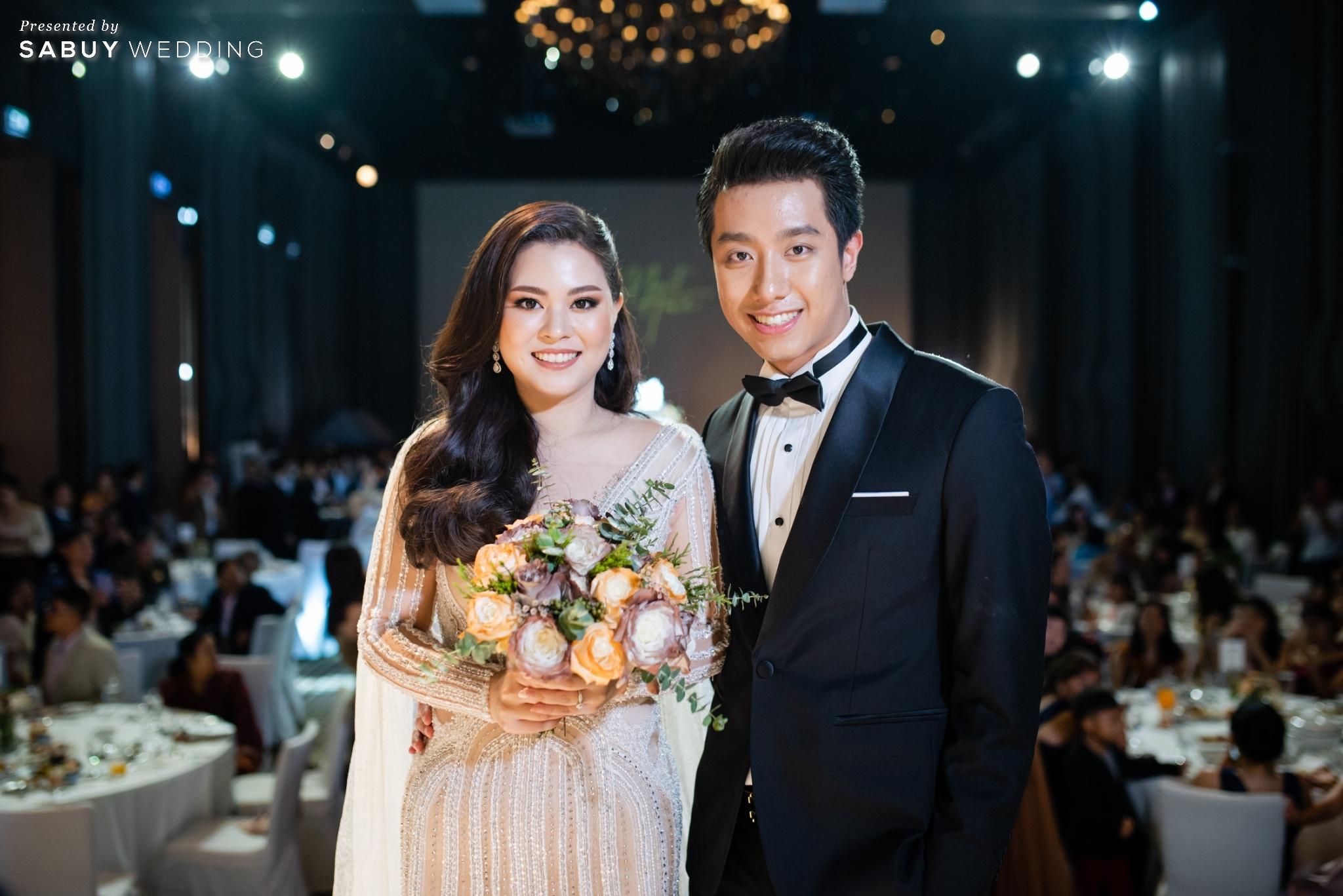 เจ้าบ่าว,เจ้าสาว,งานแต่งงาน,ดอกไม้เจ้าสาว รีวิวงานแต่งฟีล Luxury สวยดูดีด้วยโทนสีเบจ @ SO/ BANGKOK
