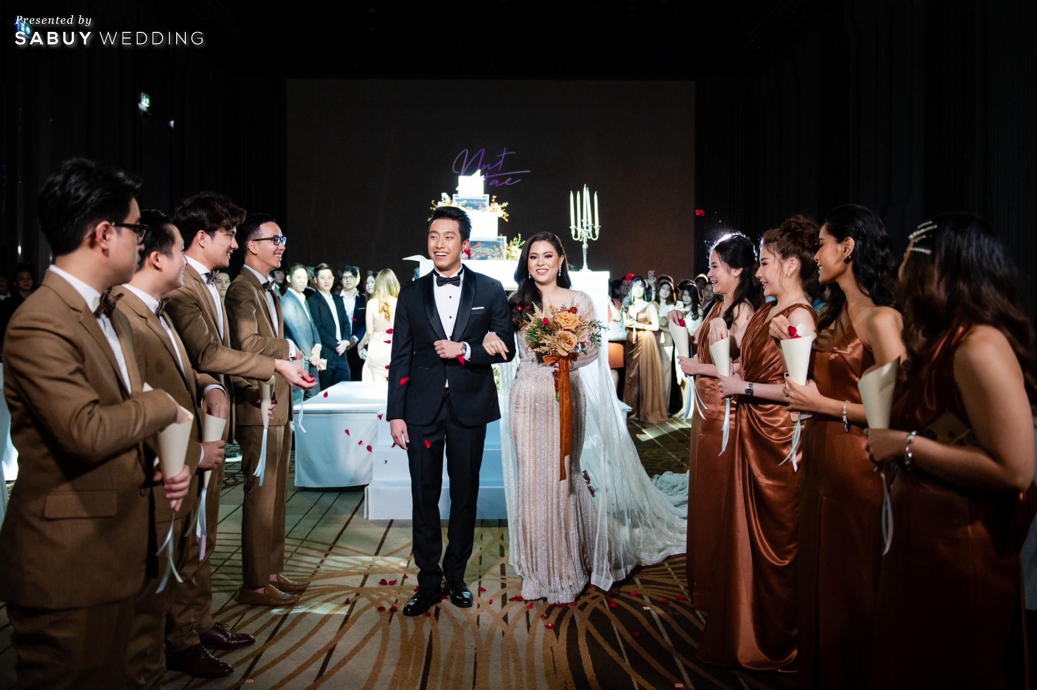 เจ้าบ่าว,เจ้าสาว,ดอกไม้เจ้าสาว รีวิวงานแต่งฟีล Luxury สวยดูดีด้วยโทนสีเบจ @ SO/ BANGKOK