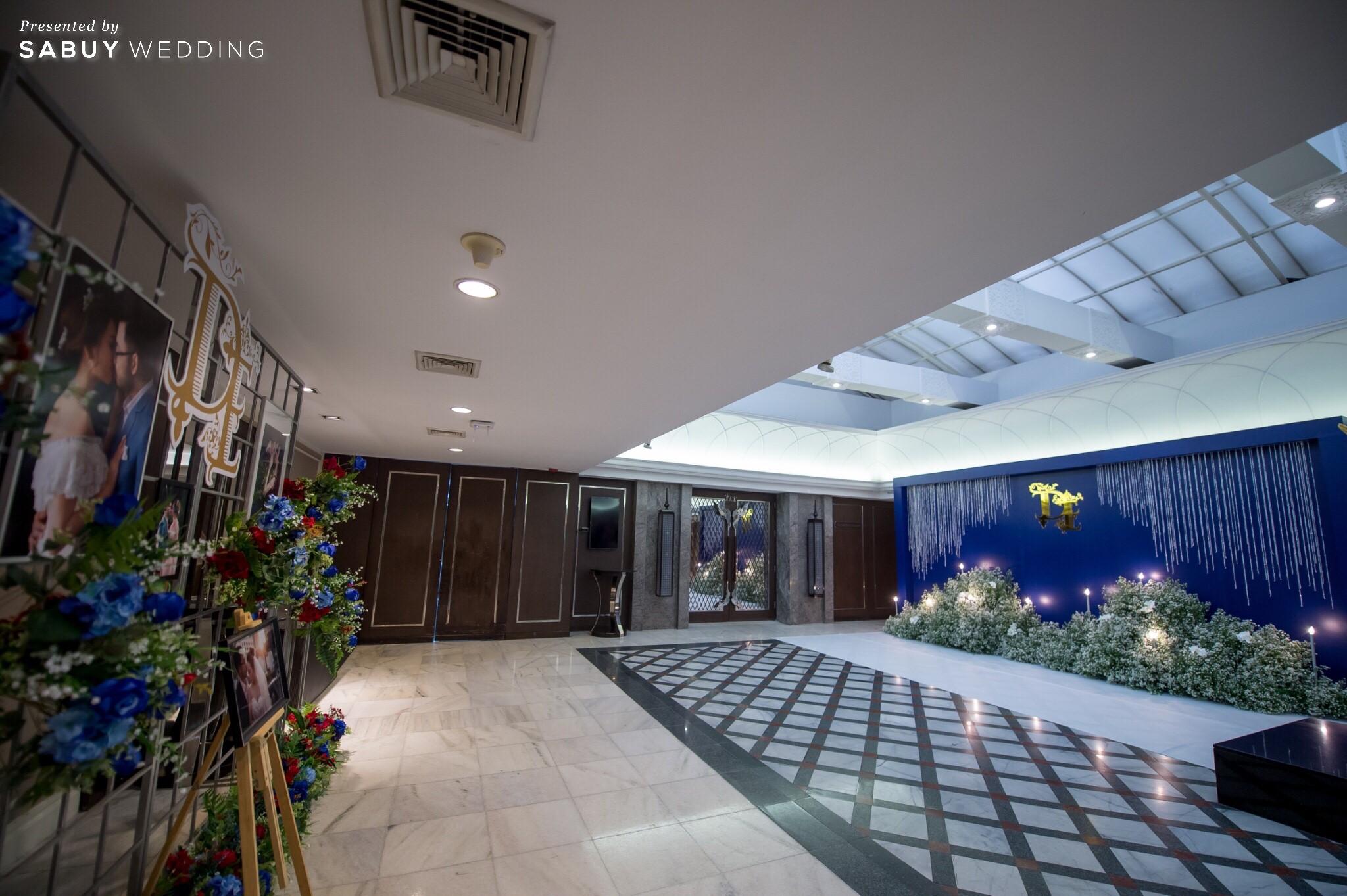 รีวิวงานแต่ง สวยเด่นสไตล์ไทยโมเดิร์น ในธีม Navy Blue - Burgundy@Narai Hotel