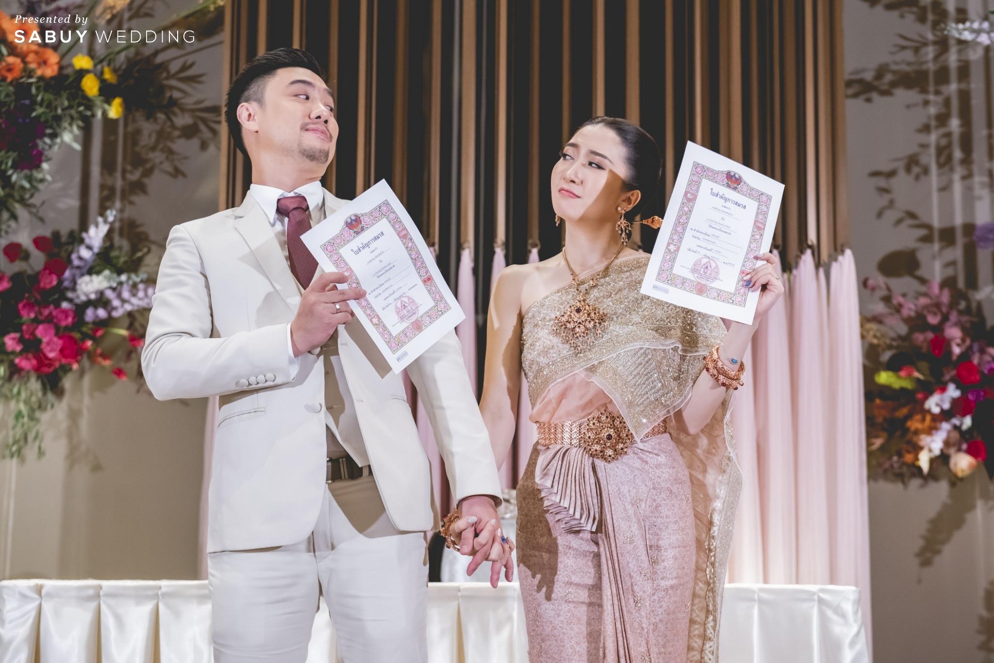 แต่งงาน,เจ้าบ่าว,เจ้าสาว รีวิวงานแต่งแซ่บจี๊ดใจ สวยสดใสด้วยโทนสี Colorful @ AVANI+ Riverside Bangkok Hotel