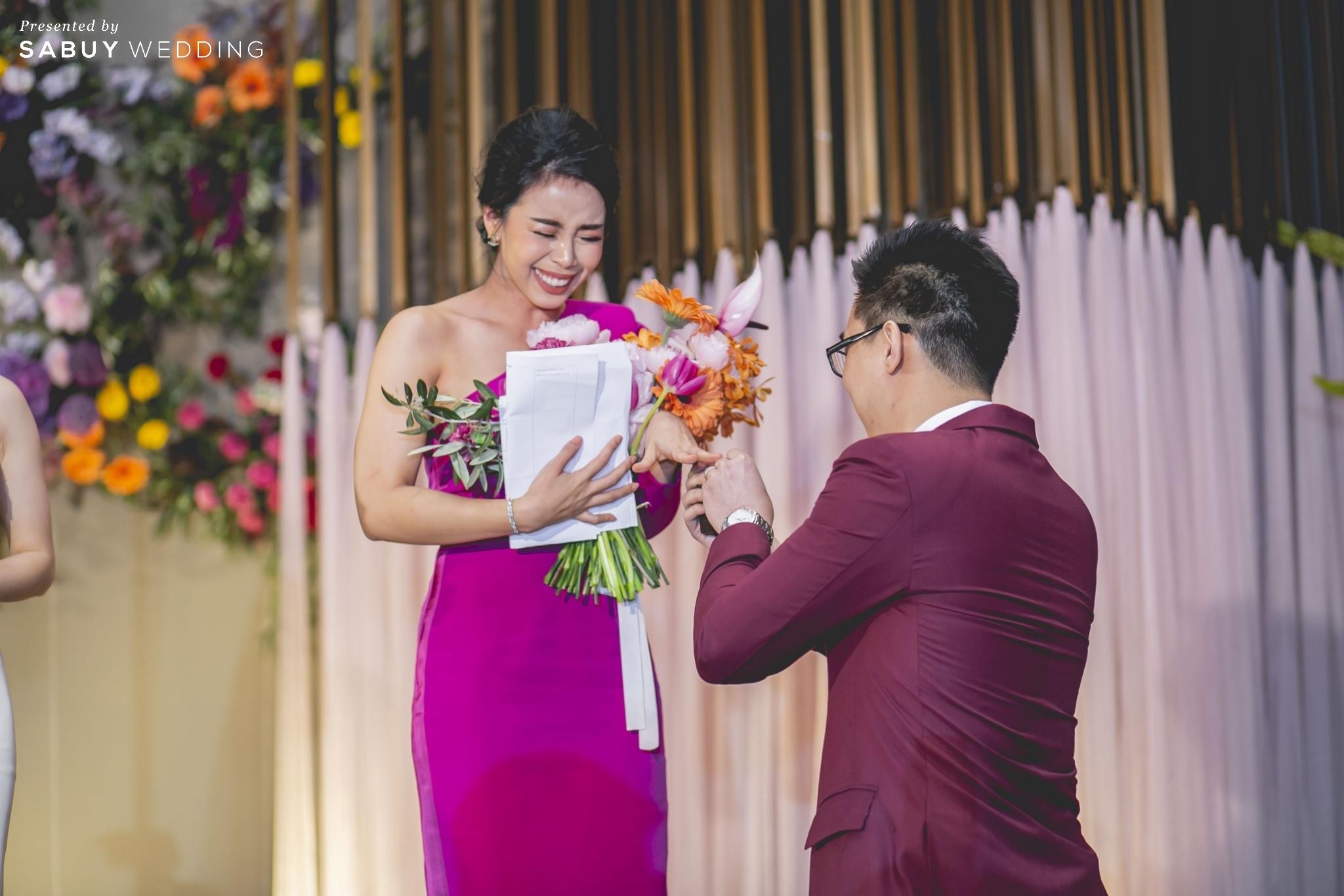 งานแต่งงาน รีวิวงานแต่งแซ่บจี๊ดใจ สวยสดใสด้วยโทนสี Colorful @ AVANI+ Riverside Bangkok Hotel