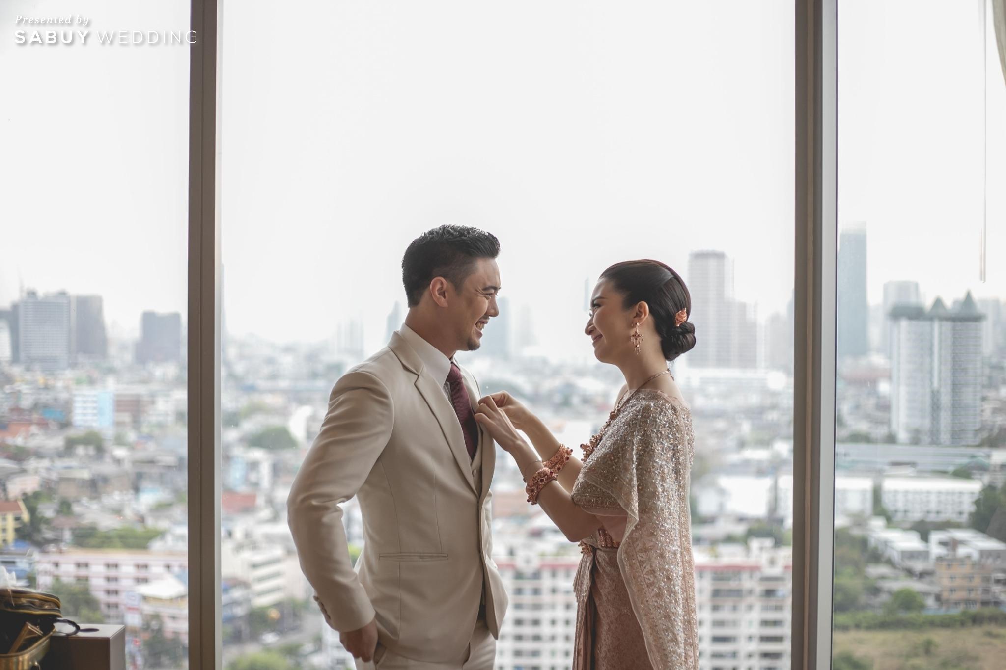 ชุดเจ้าบ่าว,ชุดเจ้าสาว,ชุดแต่งงาน รีวิวงานแต่งแซ่บจี๊ดใจ สวยสดใสด้วยโทนสี Colorful @ AVANI+ Riverside Bangkok Hotel