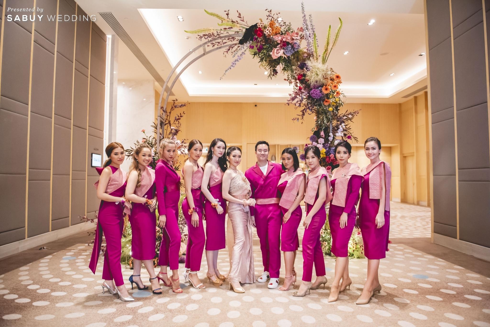 เพื่อนเจ้าสาว,ชุดเจ้าสาว,ชุดแต่งงาน รีวิวงานแต่งแซ่บจี๊ดใจ สวยสดใสด้วยโทนสี Colorful @ AVANI+ Riverside Bangkok Hotel