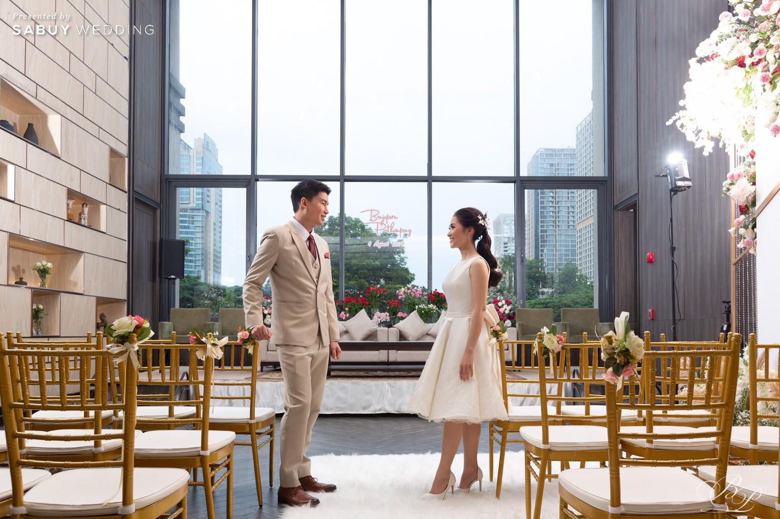 ตกแต่งสถานที่,ชุดเจ้าสาว,ชุดแต่งงาน,โรงแรม,Bliston รีวิวงานแต่ง Backdrop สวนสวย ด้วยห้องจัดเลี้ยงแสงธรรมชาติ @ Bliston Suwan Park View Hotel