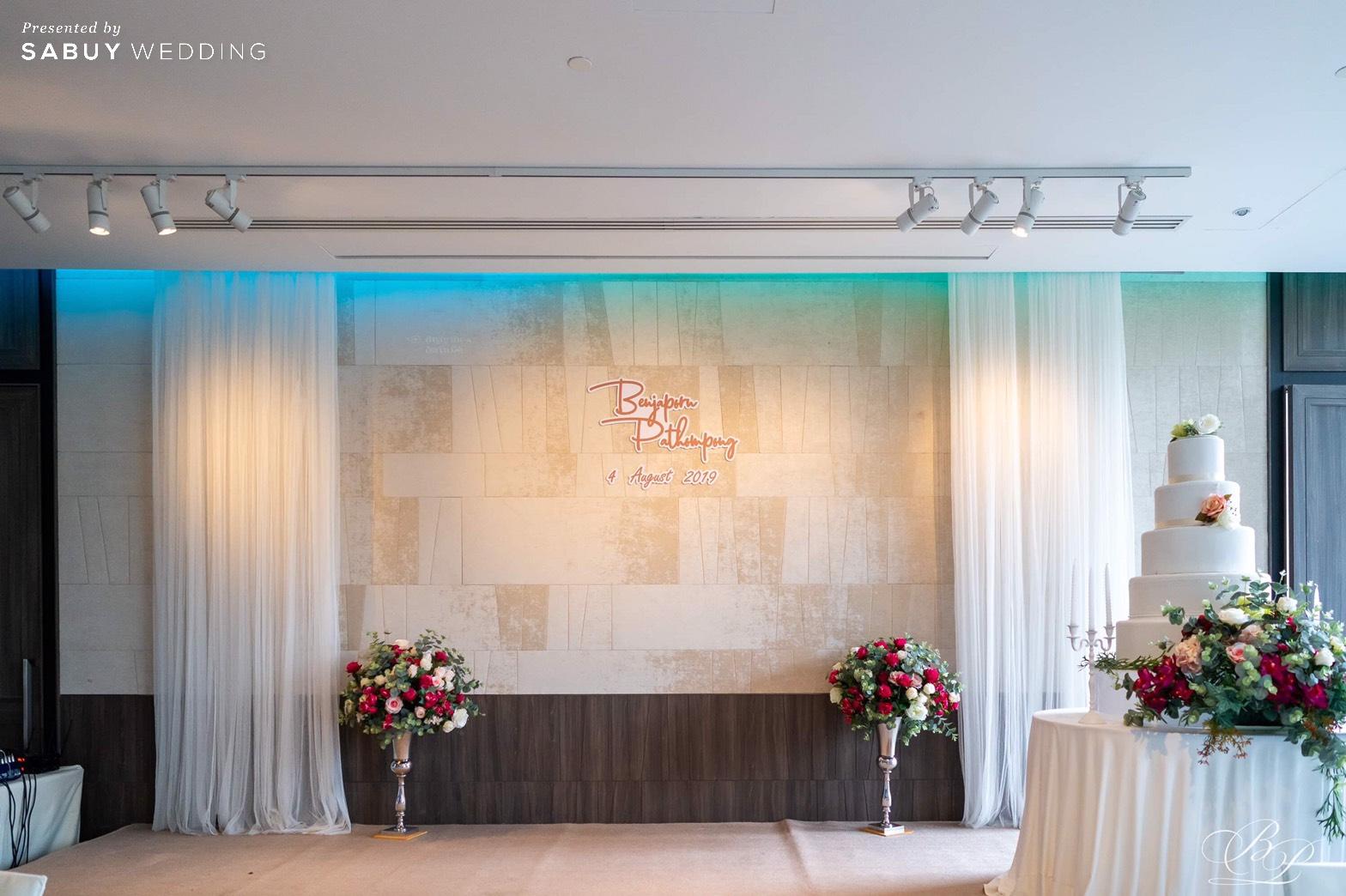 เจ้าสาว,ชุดแต่งงาน,เจ้าบ่าว,ตกแต่งงานแต่งงาน รีวิวงานแต่ง Backdrop สวนสวย ด้วยห้องจัดเลี้ยงแสงธรรมชาติ @ Bliston Suwan Park View Hotel