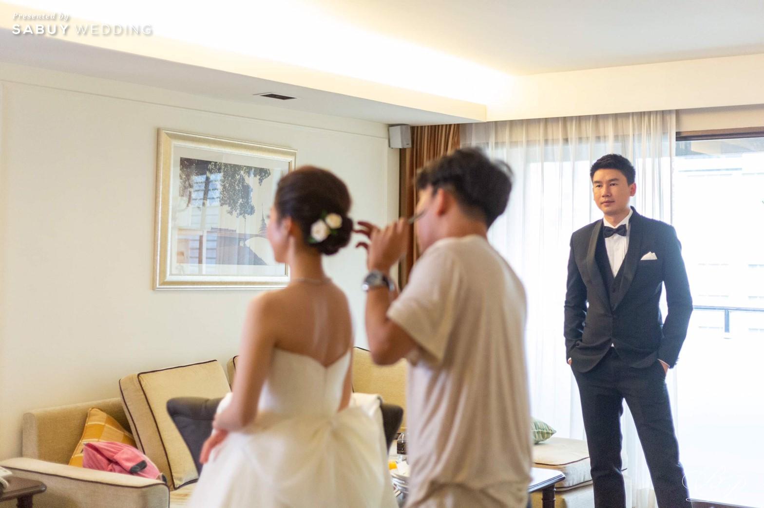 เจ้าบ่าว,เจ้าสาว,ชุดแต่งงาน รีวิวงานแต่ง Backdrop สวนสวย ด้วยห้องจัดเลี้ยงแสงธรรมชาติ @ Bliston Suwan Park View Hotel