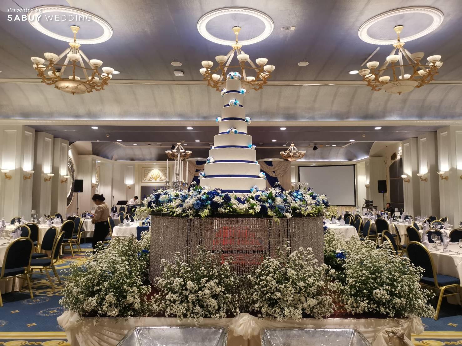 เค้กแต่งงาน รีวิวงานแต่งสองวัฒนธรรม สวยปัง ดูคลาสสิก @ Impact Muang Thong Thani