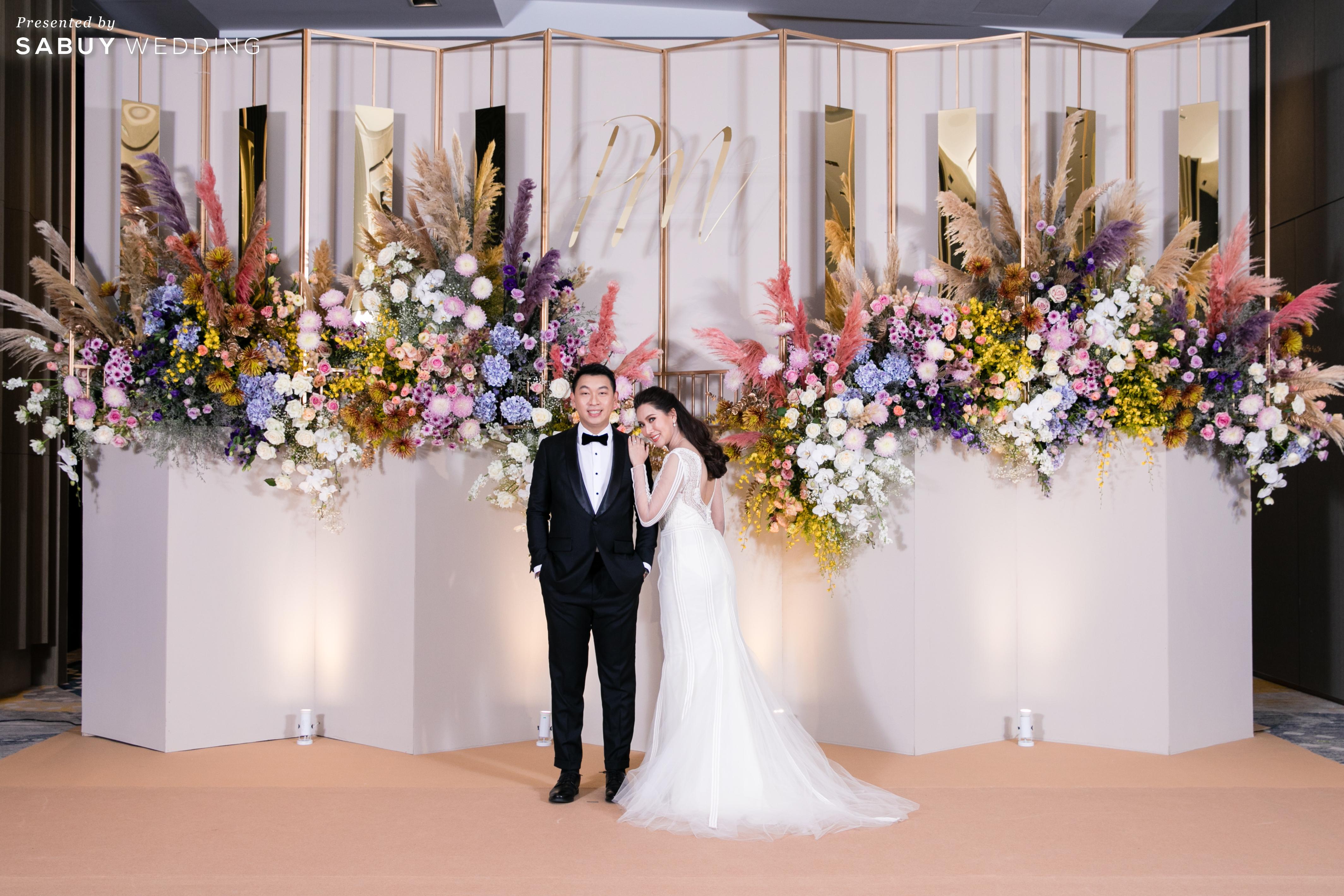 รีวิวงานแต่งสีสันสดใส ในธีมสีสุดฮิตของปี Living Coral @ Hotel Nikko Bangkok