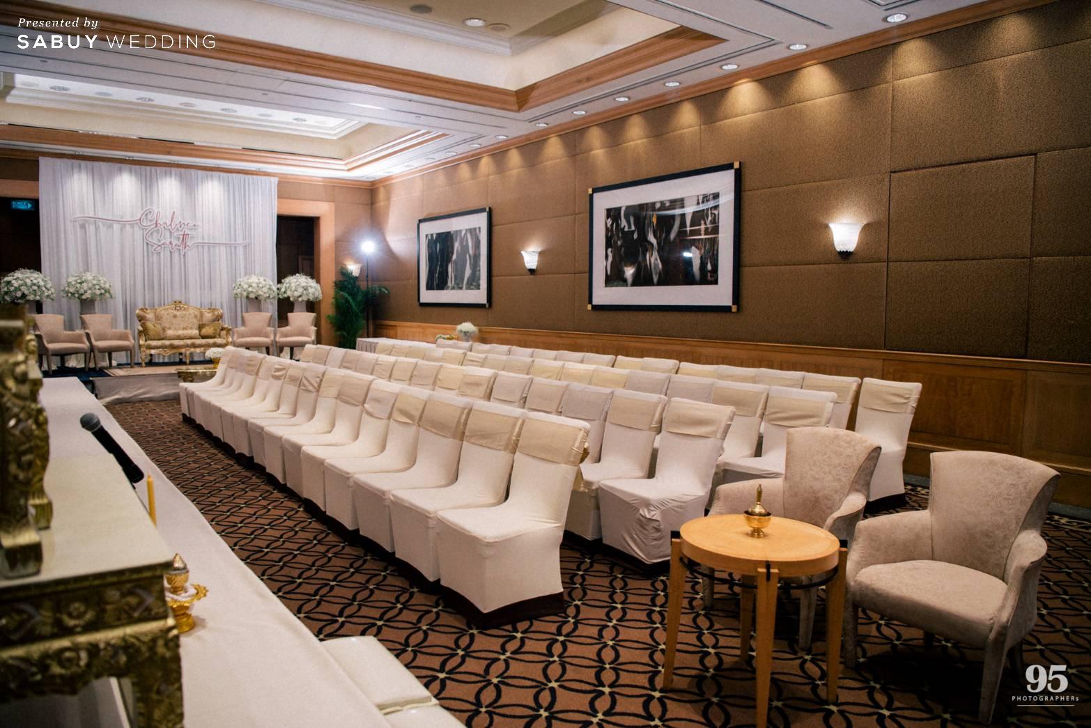 สถานที่จัดงานแต่งงาน,โรงแรม รีวิวงานแต่งธีมสวนเรียบโก้ สไตล์ Elegant greenery garden @ Sheraton Grande Sukhumvit