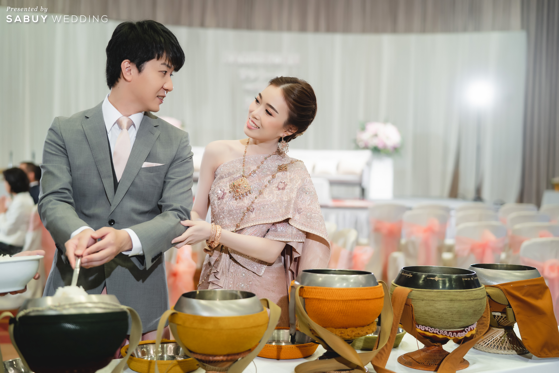 ชุดแต่งงาน,ชุดหมั้น,ชุดเจ้าสาว รีวิวงานแต่งสไตล์ไทยญี่ปุ่น หวานละมุนใจ @ Bangkok Marriott Hotel Sukhumvit