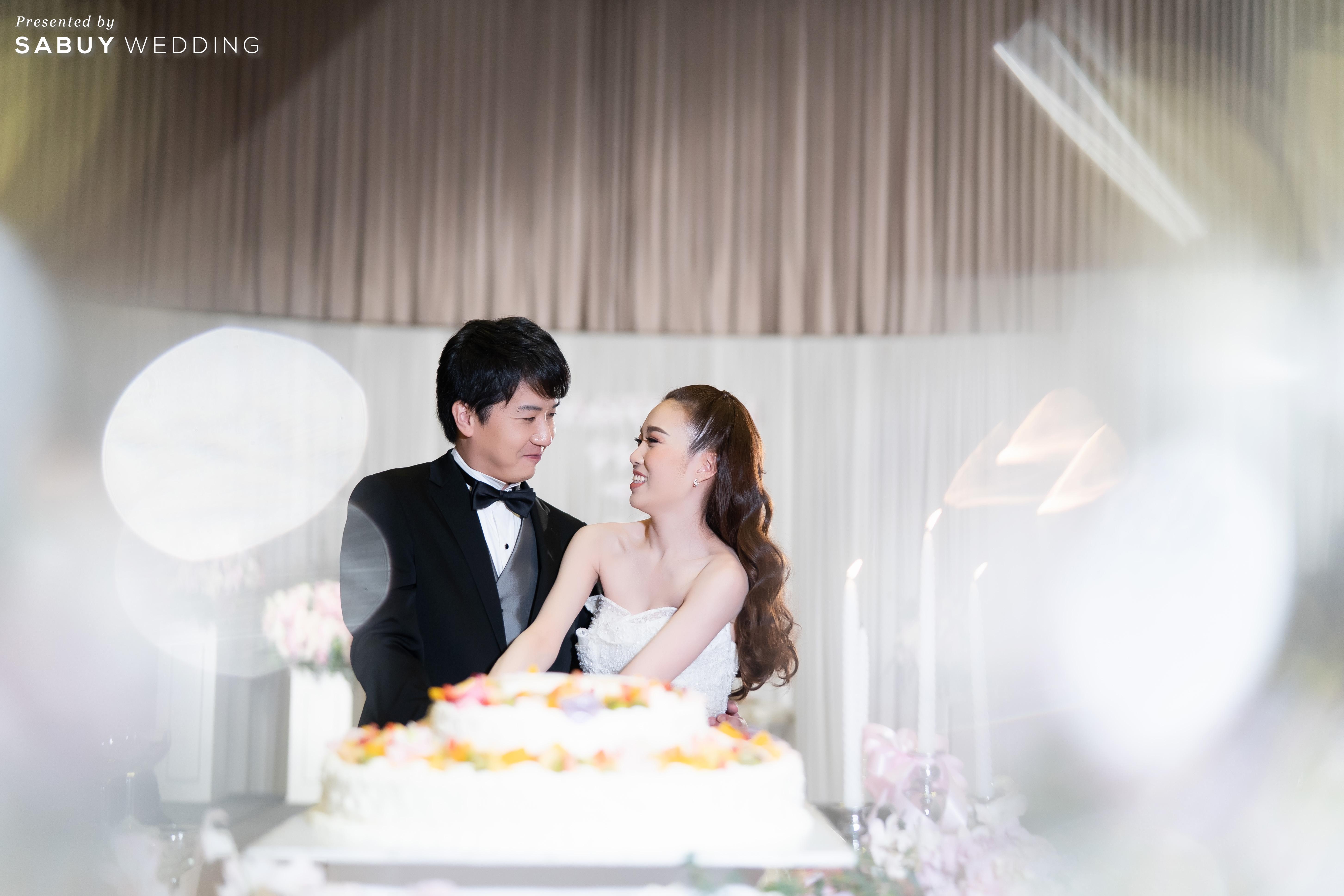 เค้กแต่งงาน รีวิวงานแต่งสไตล์ไทยญี่ปุ่น หวานละมุนใจ @ Bangkok Marriott Hotel Sukhumvit