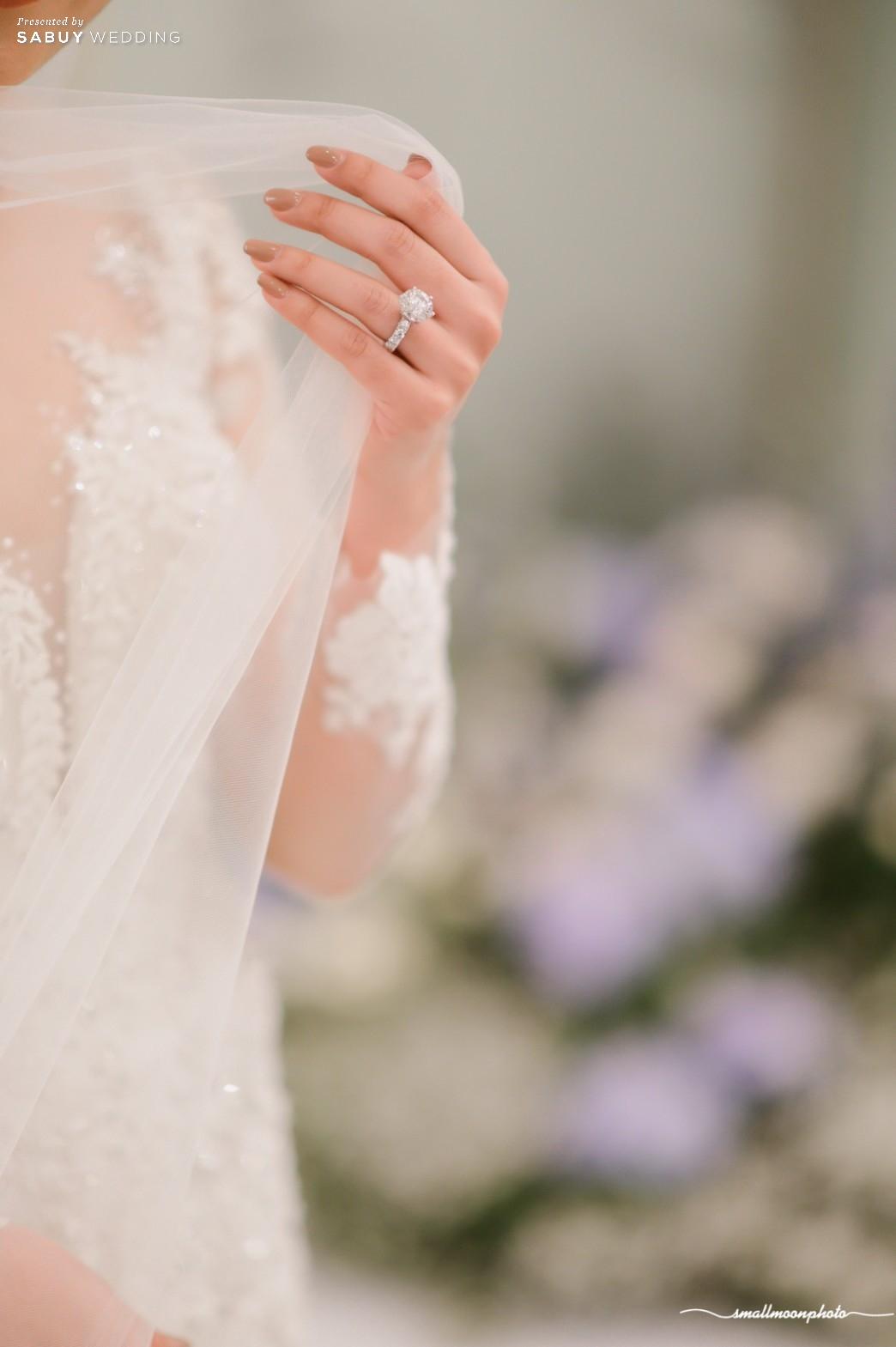 แหวนแต่งงาน รีวิวงานแต่งแสนหวานกับคอนเซ็ปต์งานสไตล์ English Garden @ Sofitel Bangkok Sukhumvit