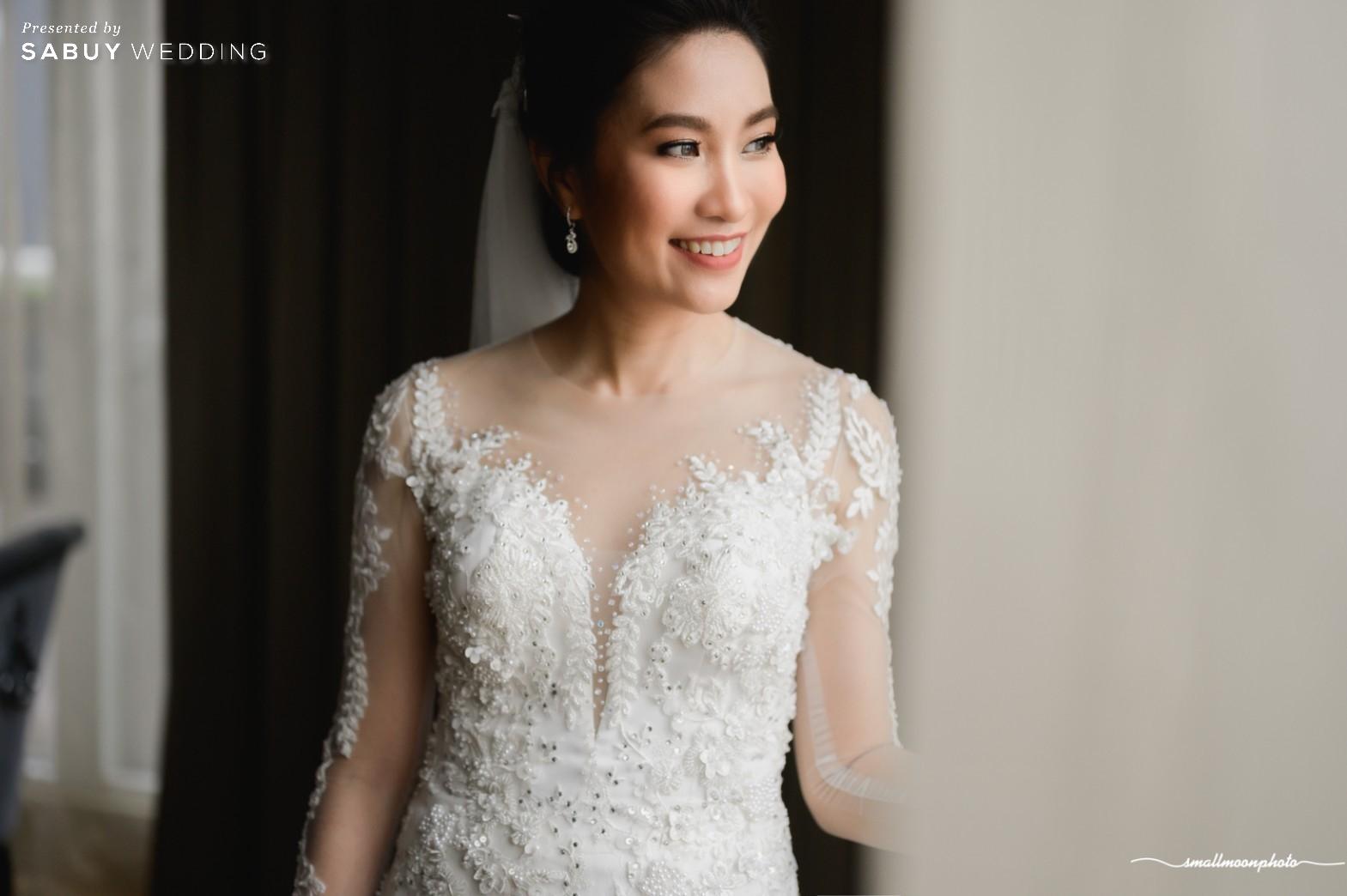 เจ้าสาว,ชุดแต่งงาน รีวิวงานแต่งแสนหวานกับคอนเซ็ปต์งานสไตล์ English Garden @ Sofitel Bangkok Sukhumvit