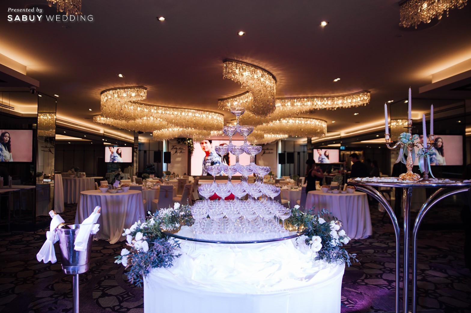 โรงแรม,สถานที่แต่งงาน รีวิวงานแต่งริมน้ำสุดอบอุ่น สวยละมุนในโทนขาวเขียว @ Chatrium Hotel Riverside Bangkok