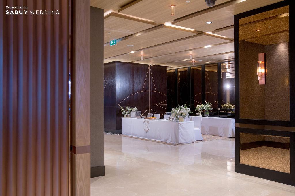 """สถานที่แต่งงาน,โรงแรม รีวิวงานแต่ง """"บอย พิษณุ"""" สุดหวาน จำลองงานที่สวีเดนจัดเต็ม @ Hyatt Regency Bangkok Sukhumvit"""