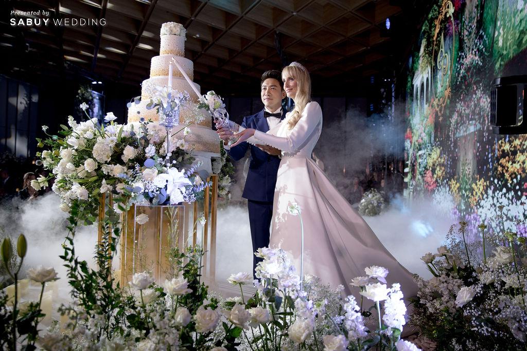 """ชุดแต่งงาน,ร้านชุดแต่งงาน,งานแต่งงาน,บอยพิษณุ รีวิวงานแต่ง """"บอย พิษณุ"""" สุดหวาน จำลองงานที่สวีเดนจัดเต็ม @ Hyatt Regency Bangkok Sukhumvit"""