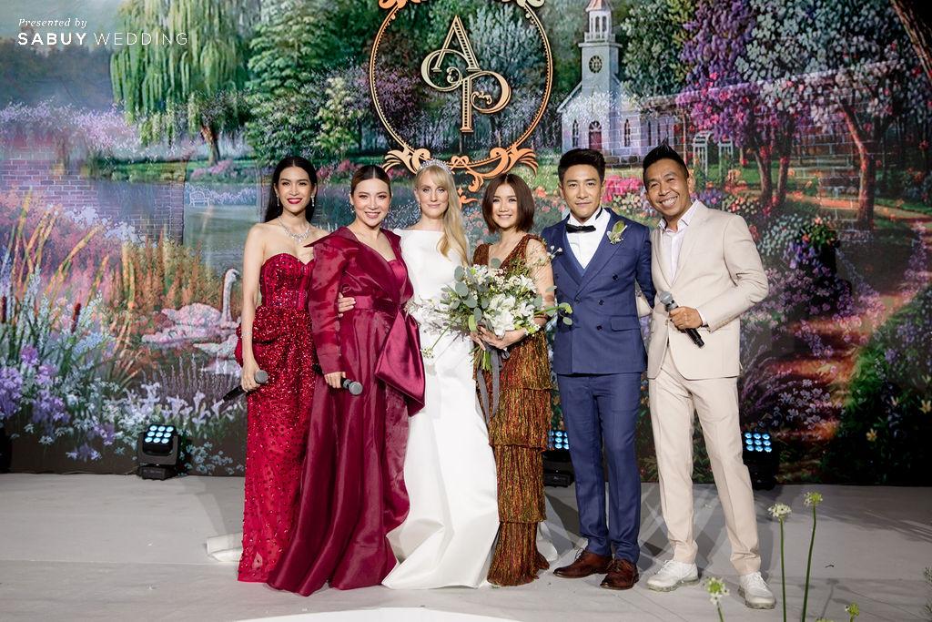 """งานแต่งงานบอยพิษณุ รีวิวงานแต่ง """"บอย พิษณุ"""" สุดหวาน จำลองงานที่สวีเดนจัดเต็ม @ Hyatt Regency Bangkok Sukhumvit"""