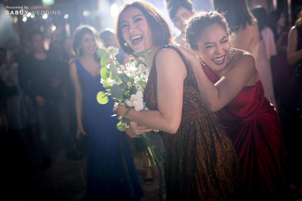 """งานแต่งงาน,ดอกไม้เจ้าสาว รีวิวงานแต่ง """"บอย พิษณุ"""" สุดหวาน จำลองงานที่สวีเดนจัดเต็ม @ Hyatt Regency Bangkok Sukhumvit"""