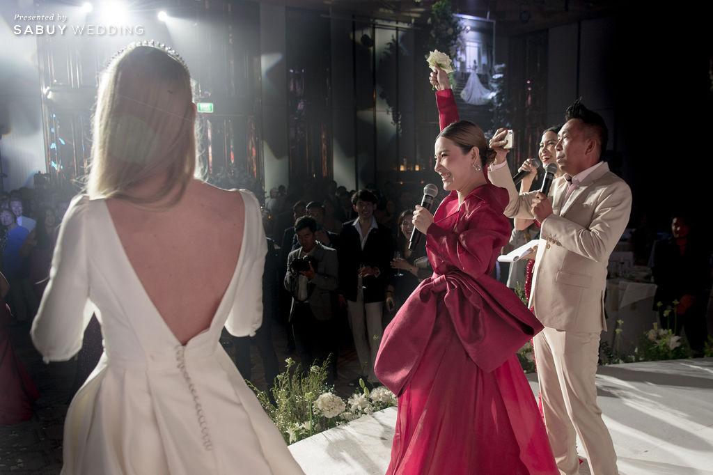 """ต้นหอม ศกุนตลา,งานแต่งงาน รีวิวงานแต่ง """"บอย พิษณุ"""" สุดหวาน จำลองงานที่สวีเดนจัดเต็ม @ Hyatt Regency Bangkok Sukhumvit"""