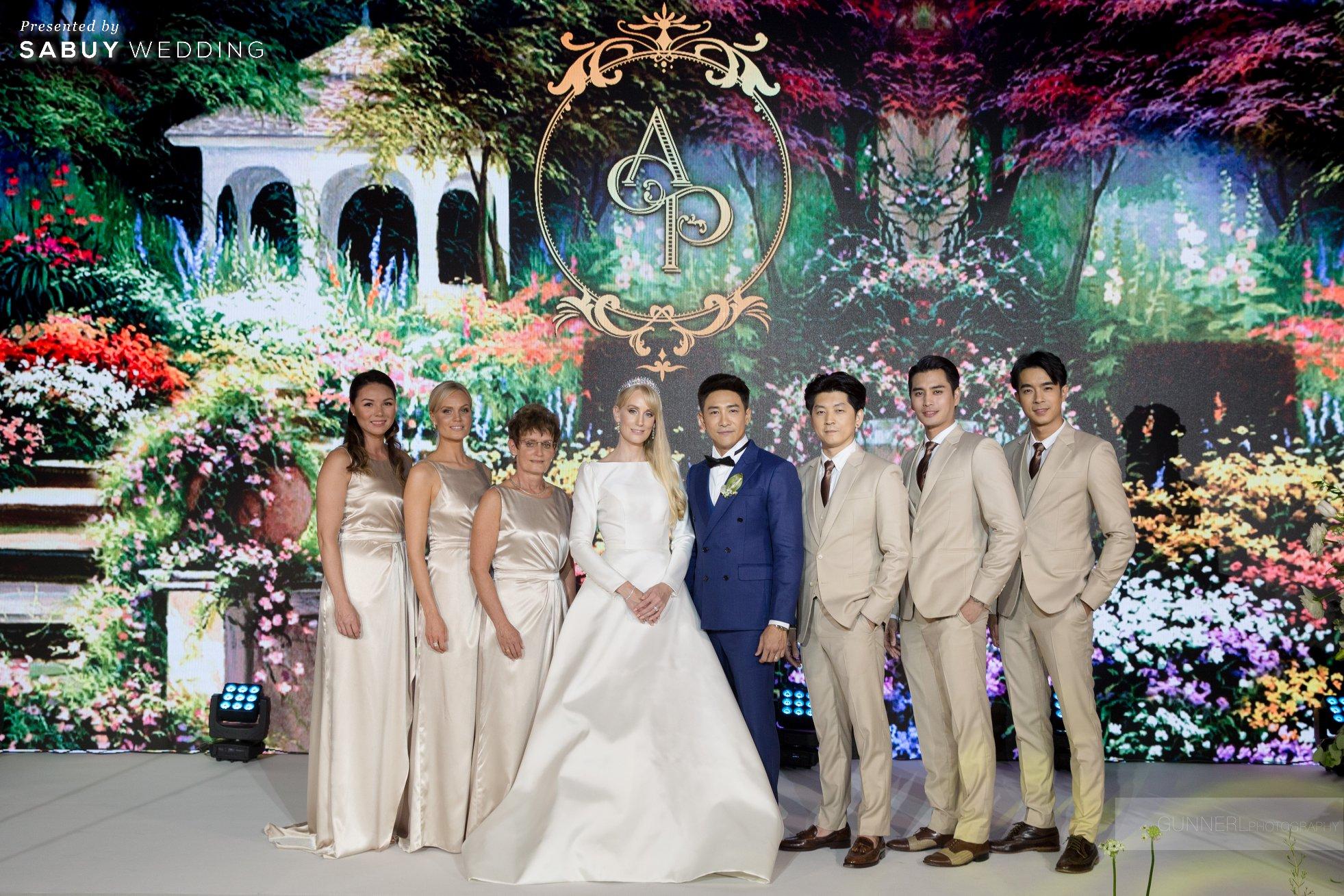 """บอย พิษณุ,งานแต่งงาน,จัดงานแต่งงาน,สถานที่แต่งงาน รีวิวงานแต่ง """"บอย พิษณุ"""" สุดหวาน จำลองงานที่สวีเดนจัดเต็ม @ Hyatt Regency Bangkok Sukhumvit"""