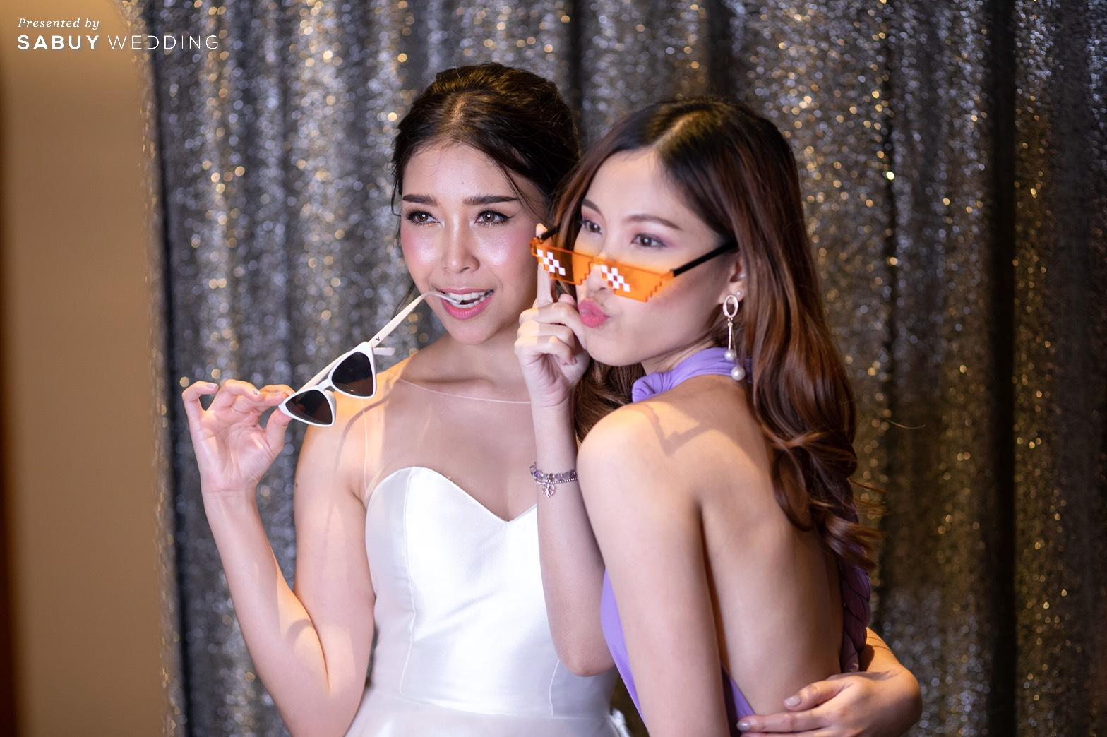 photobooth,ชุดเจ้าสาว,ชุดเพื่อนเจ้าสาว รีวิวงานแต่ง Minimal in Lavender เก๋ไม่ซ้ำใครสไตล์ Go Green @ SO/BANGKOK