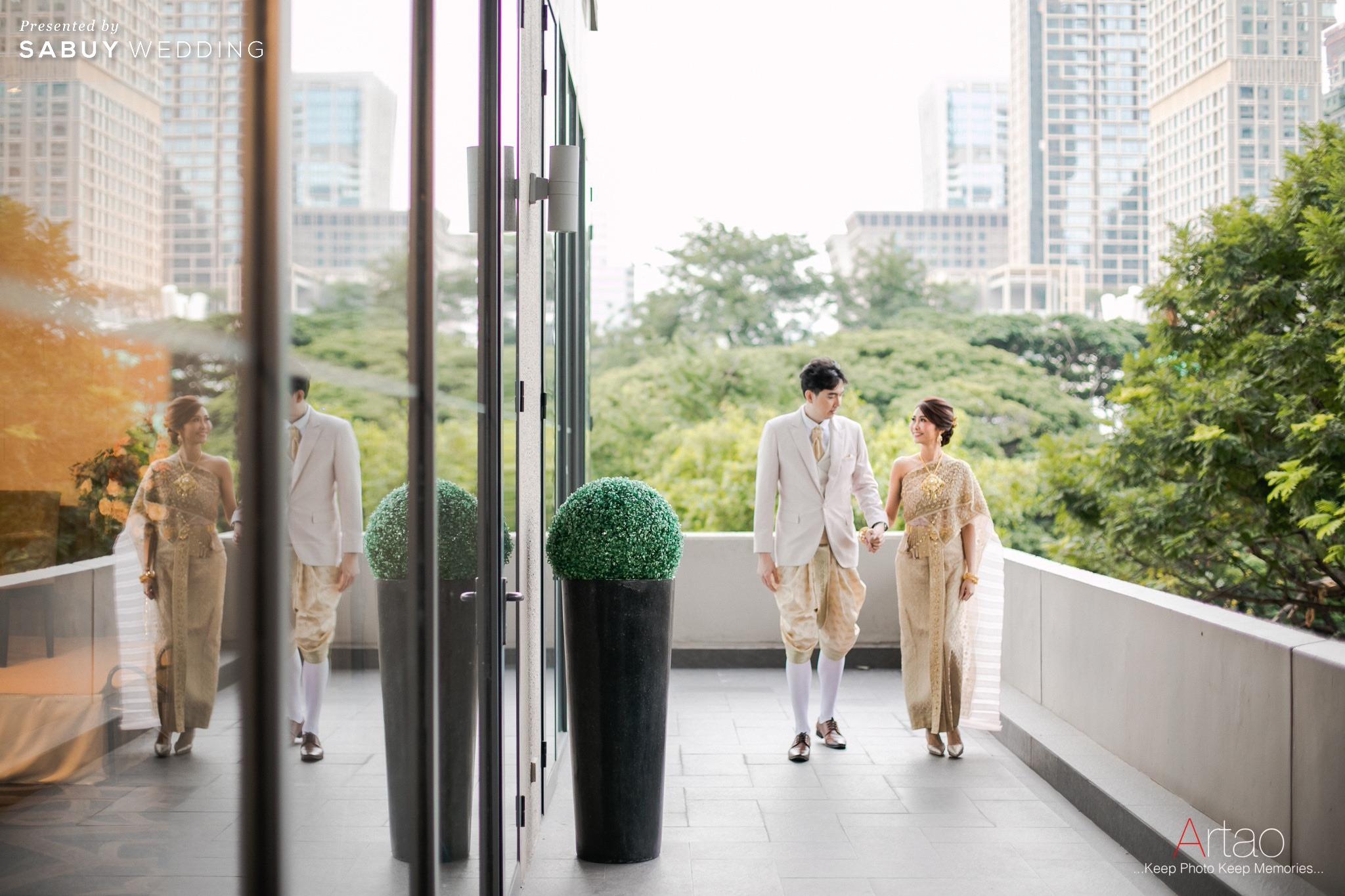 รีวิวงานแต่งเรียบง่าย กลิ่นอาย Greenery @ Bliston Suwan Park View Hotel
