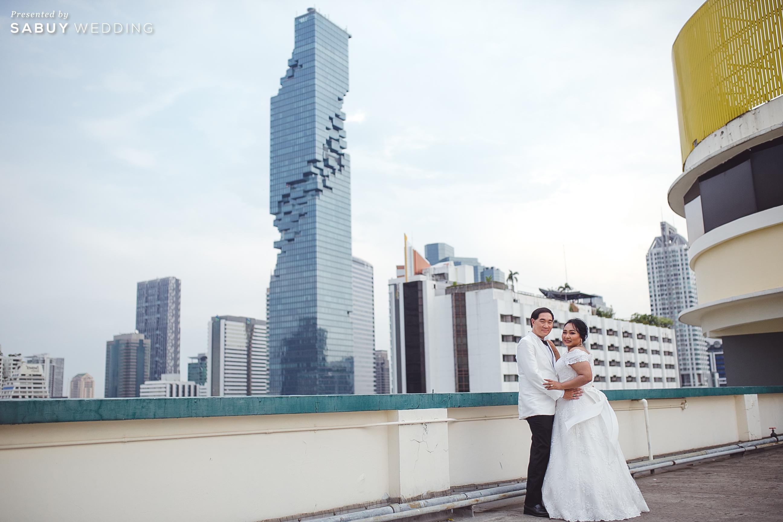 สถานที่แต่งงาน,ชุดแต่งงาน รีวิวงานแต่งสุดคลาสสิก กับกิมมิคแจกของรางวัล @ Narai Hotel